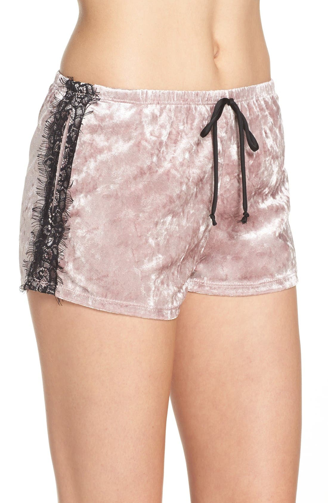 Alternate Image 3  - Band of Gypsies Velvet Shorts