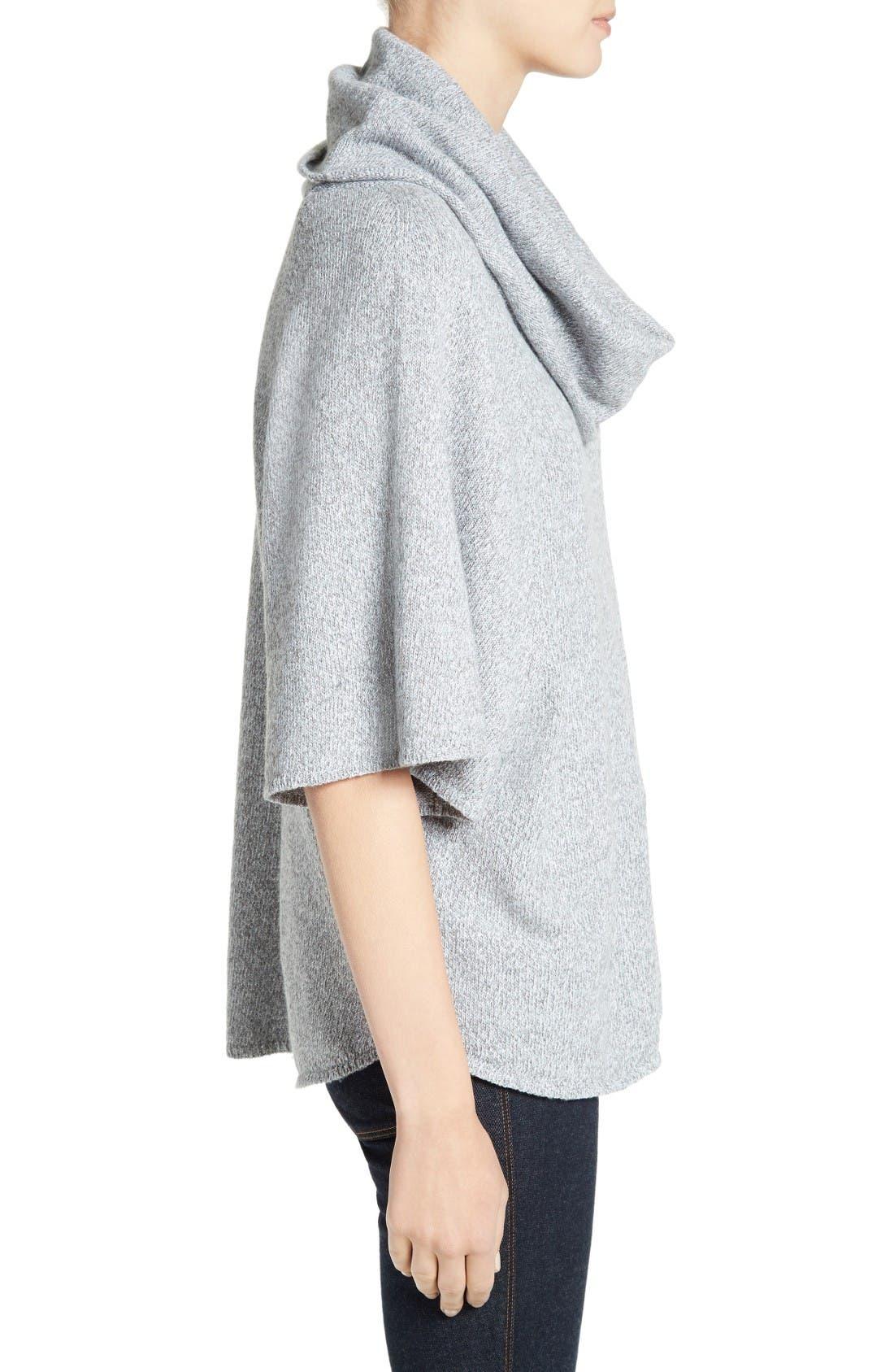 Celia Cowl Neck Sweater,                             Alternate thumbnail 3, color,                             Light Smoke Multi