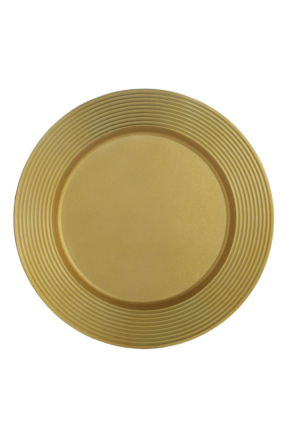 Wheat Charger Plate,                         Main,                         color, Gold