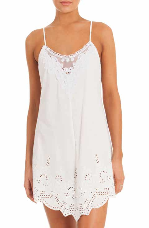 In Bloom by Jonquil Eyelet Chemise Compare Price