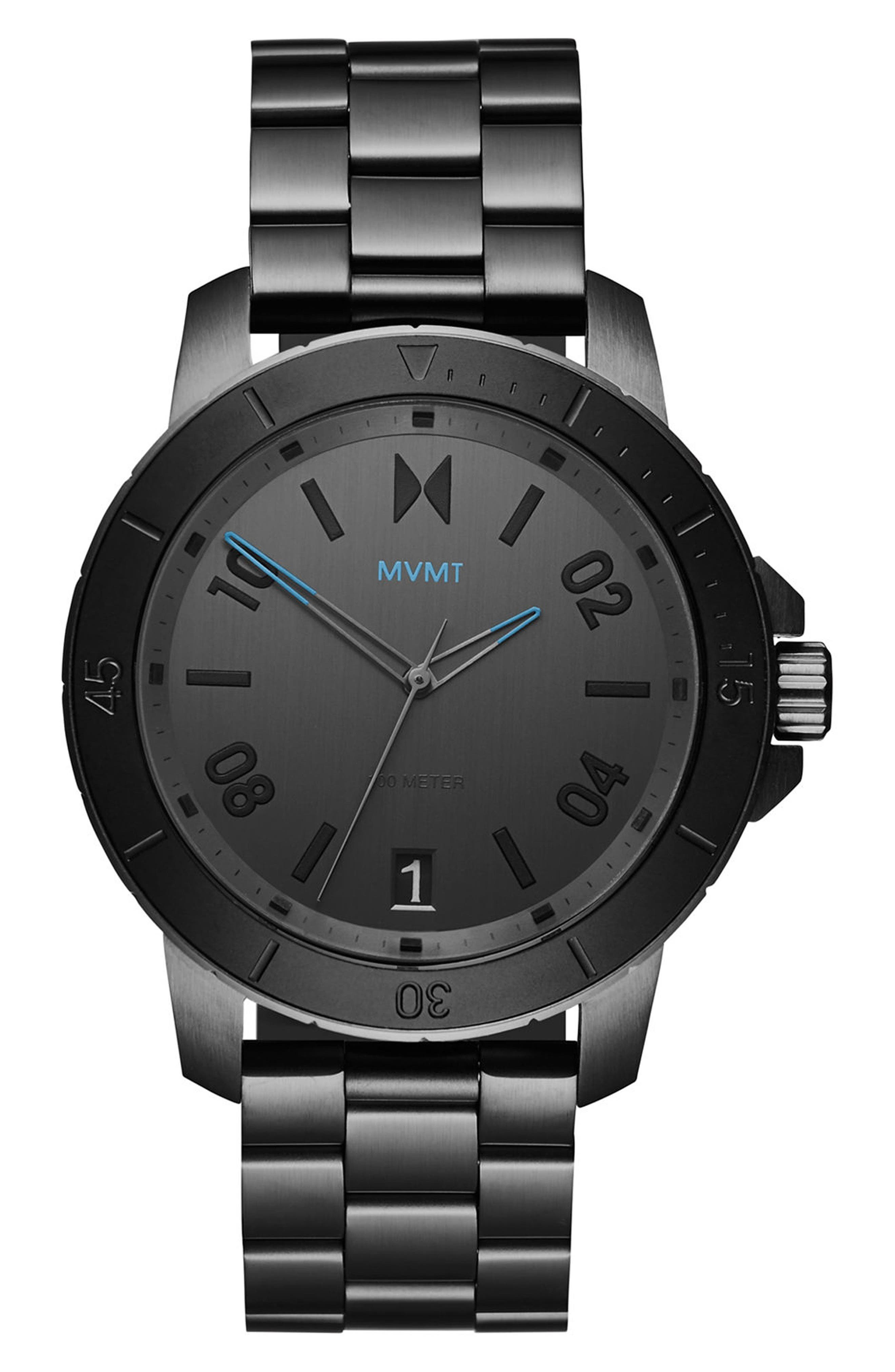 Main Image - MVMT Modern Sport Bracelet Watch, 42mm