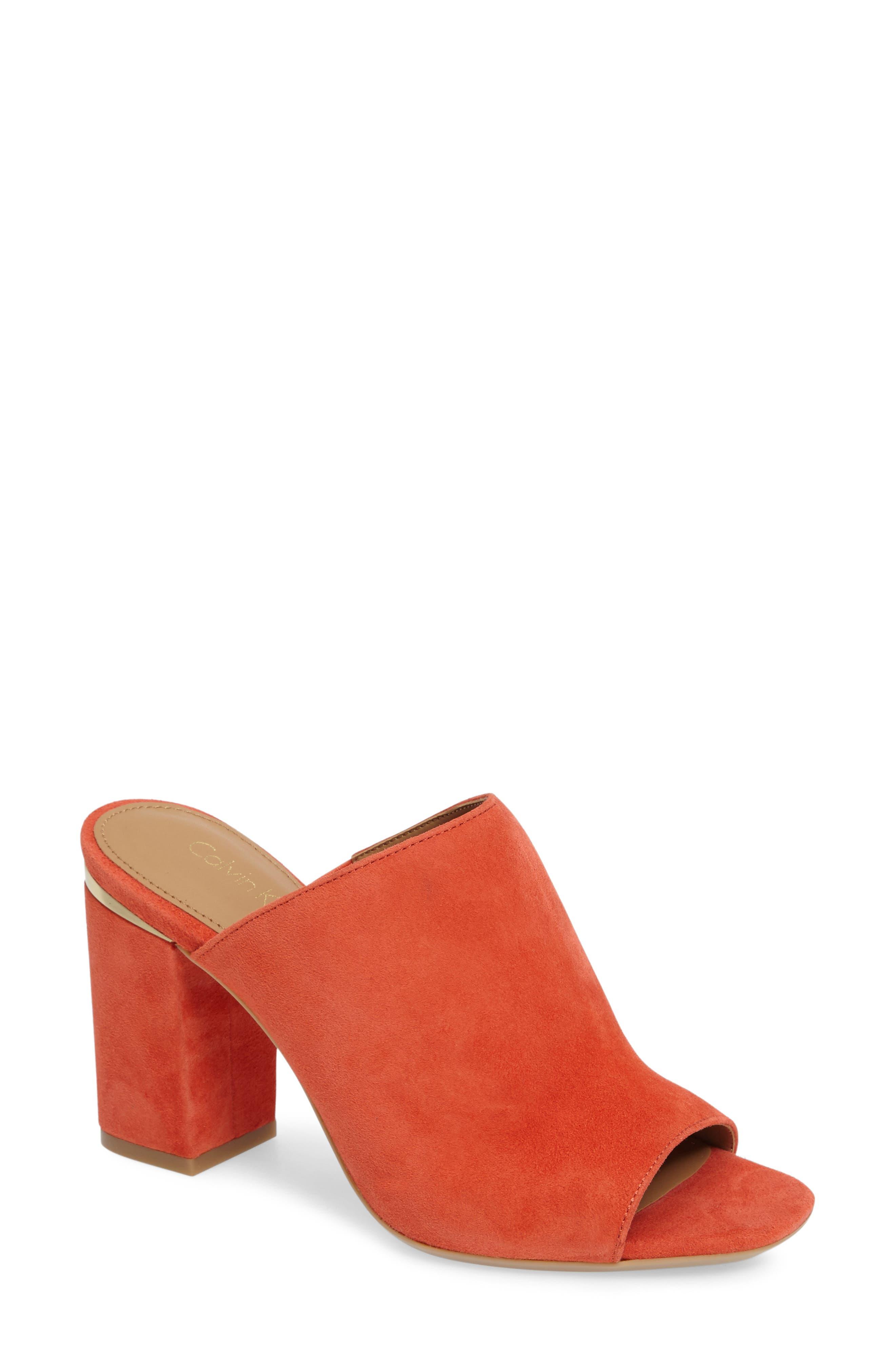 Alternate Image 1 Selected - Calvin Klein Cicelle Mule (Women)