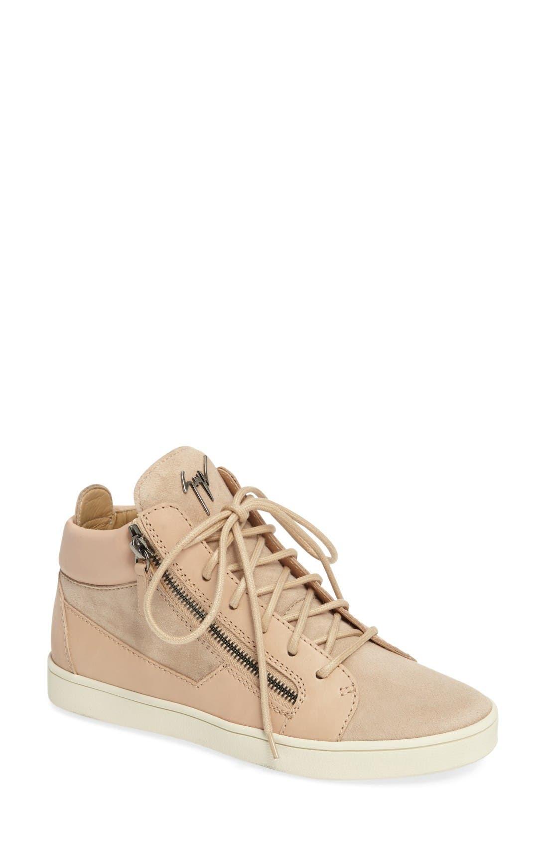 Alternate Image 1 Selected - Giuseppe Zanotti High Top Sneaker (Women)
