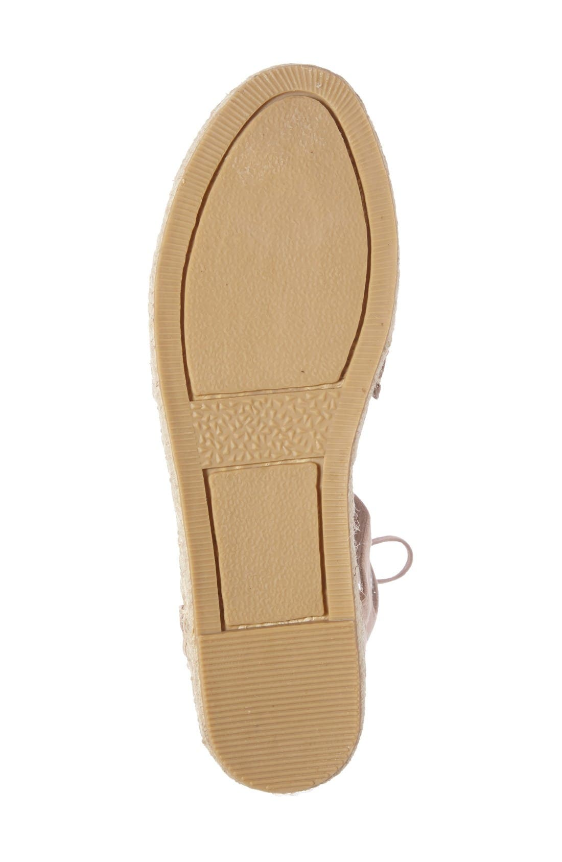 Alternate Image 4  - Kenneth Cole New York Beverly Espadrille Flat (Women)