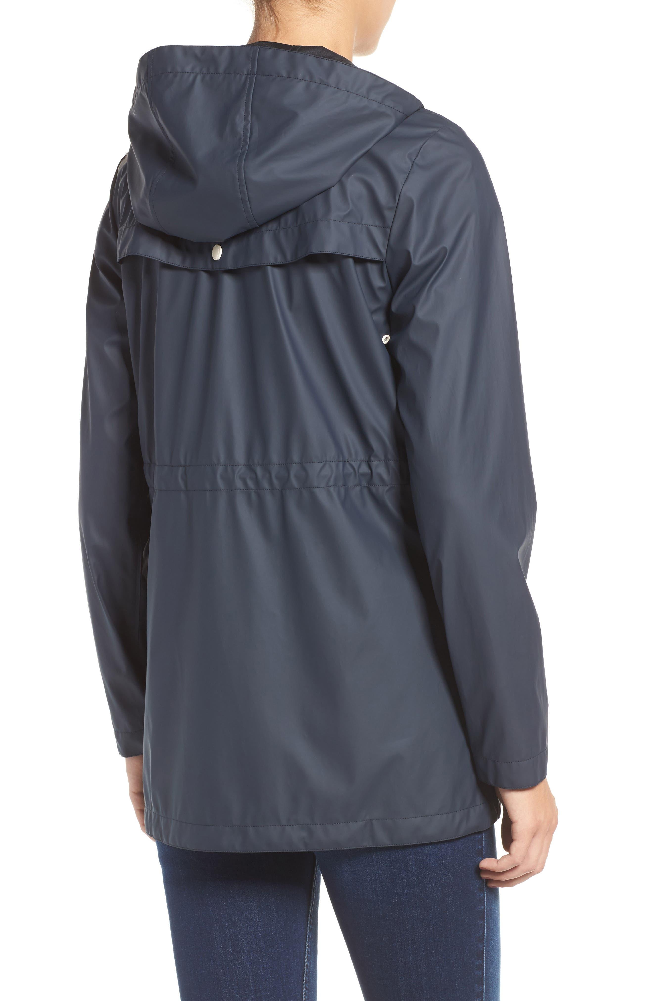 Alternate Image 2  - Cole Haan Hooded Rain Jacket