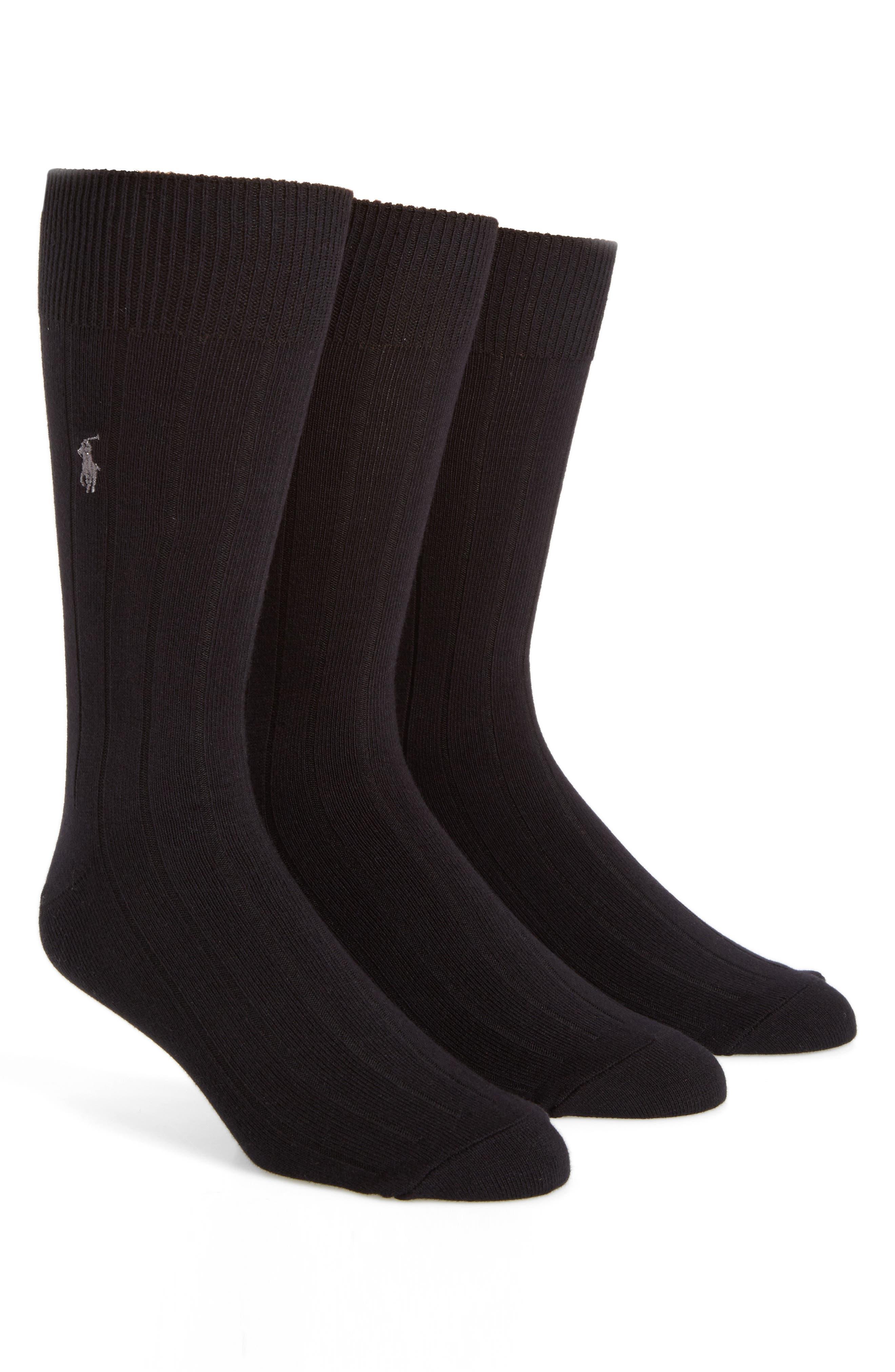 Polo Ralph Lauren 3-Pack Crew Socks