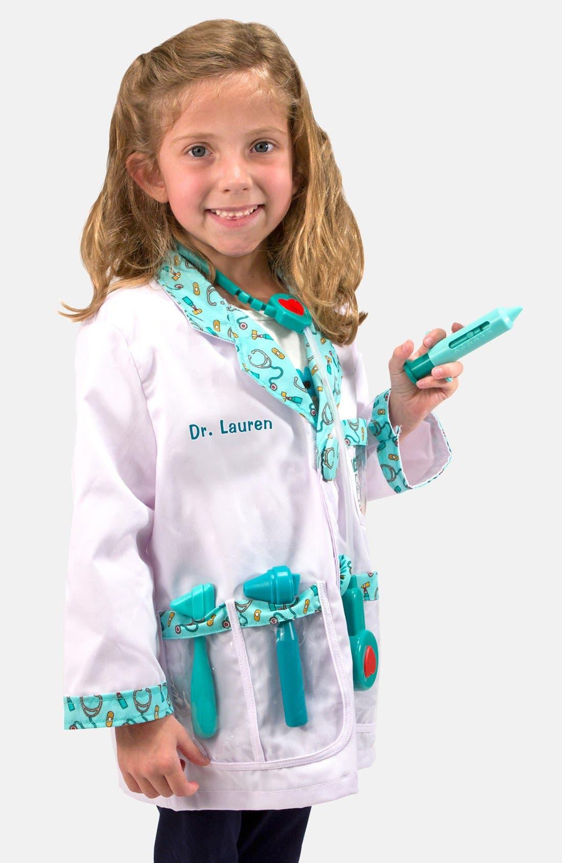 Melissa & Doug 'Doctor' Personalized Costume Set (Toddler)