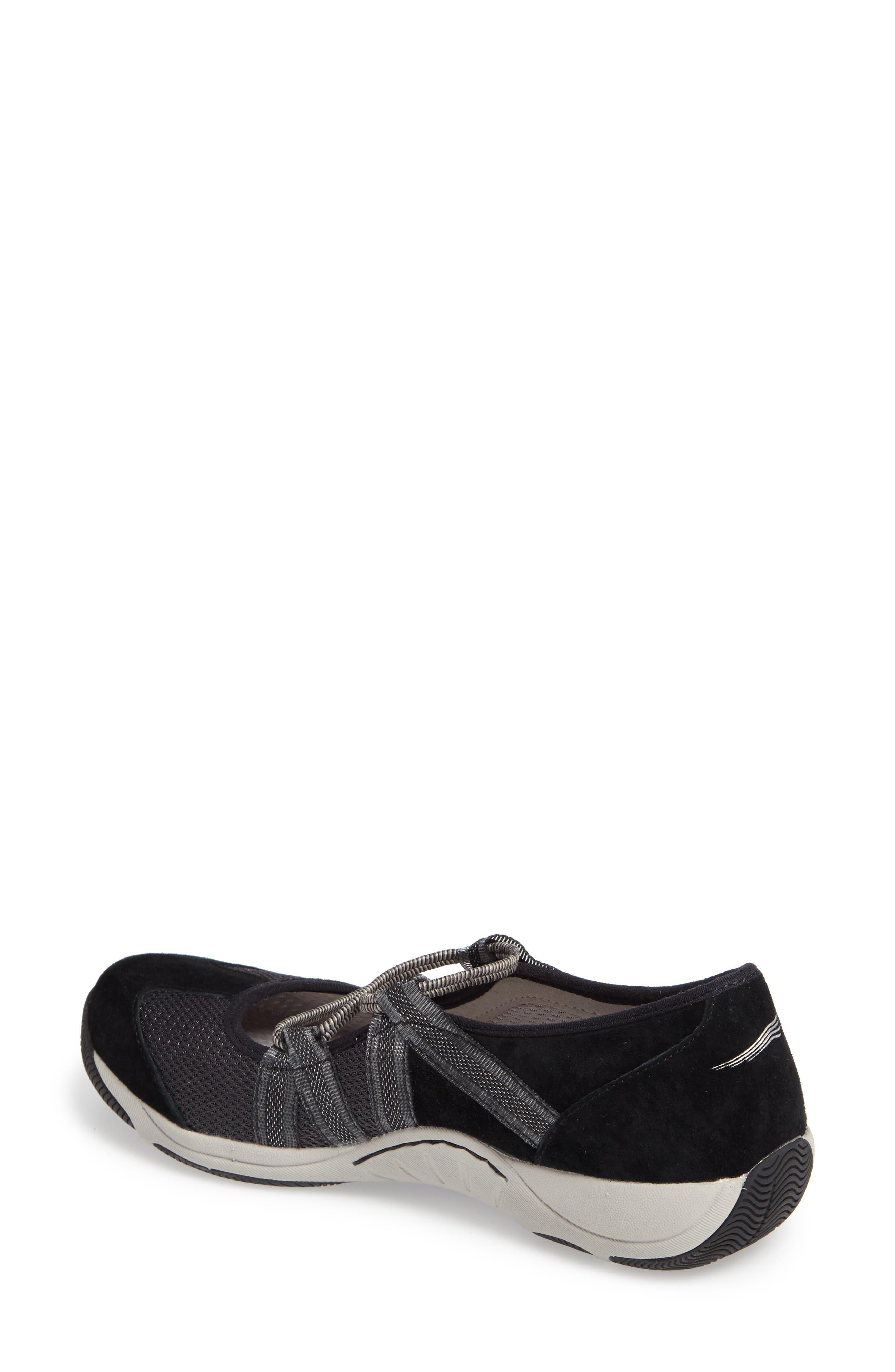 Honey Slip-On Sneaker,                             Alternate thumbnail 2, color,                             Black Suede