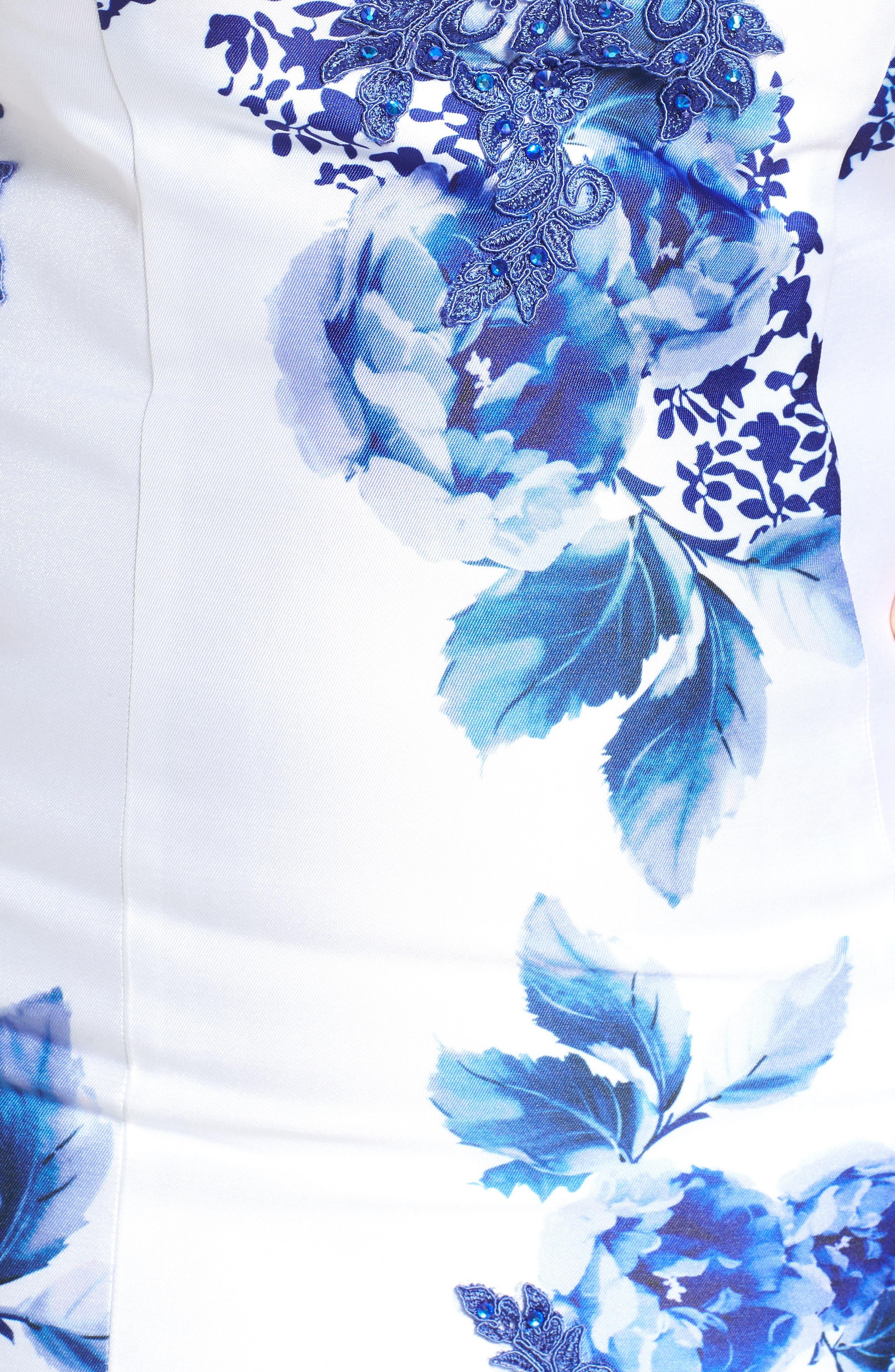 Alternate Image 5  - Mac Duggal Embellished Strapless Zip Off Mermaid Gown (Plus Size)
