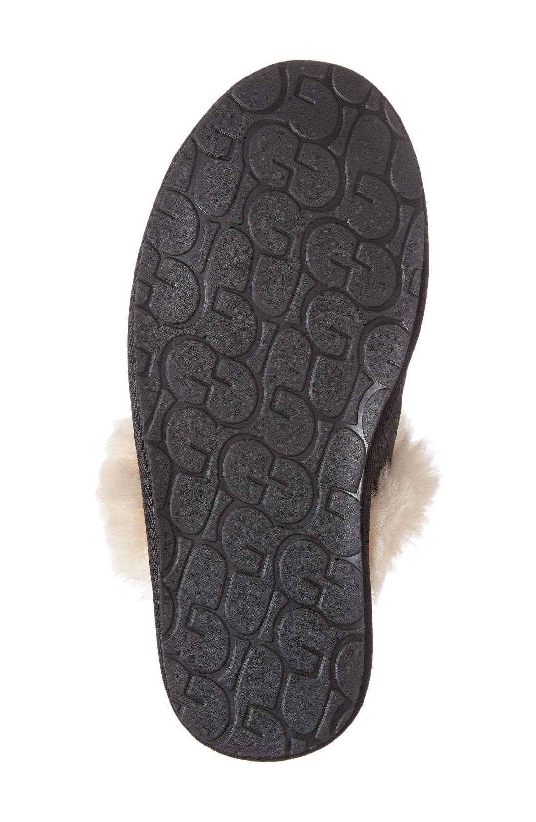 Alternate Image 4  - UGG® Scuffette II Snake Embossed Slipper (Women)