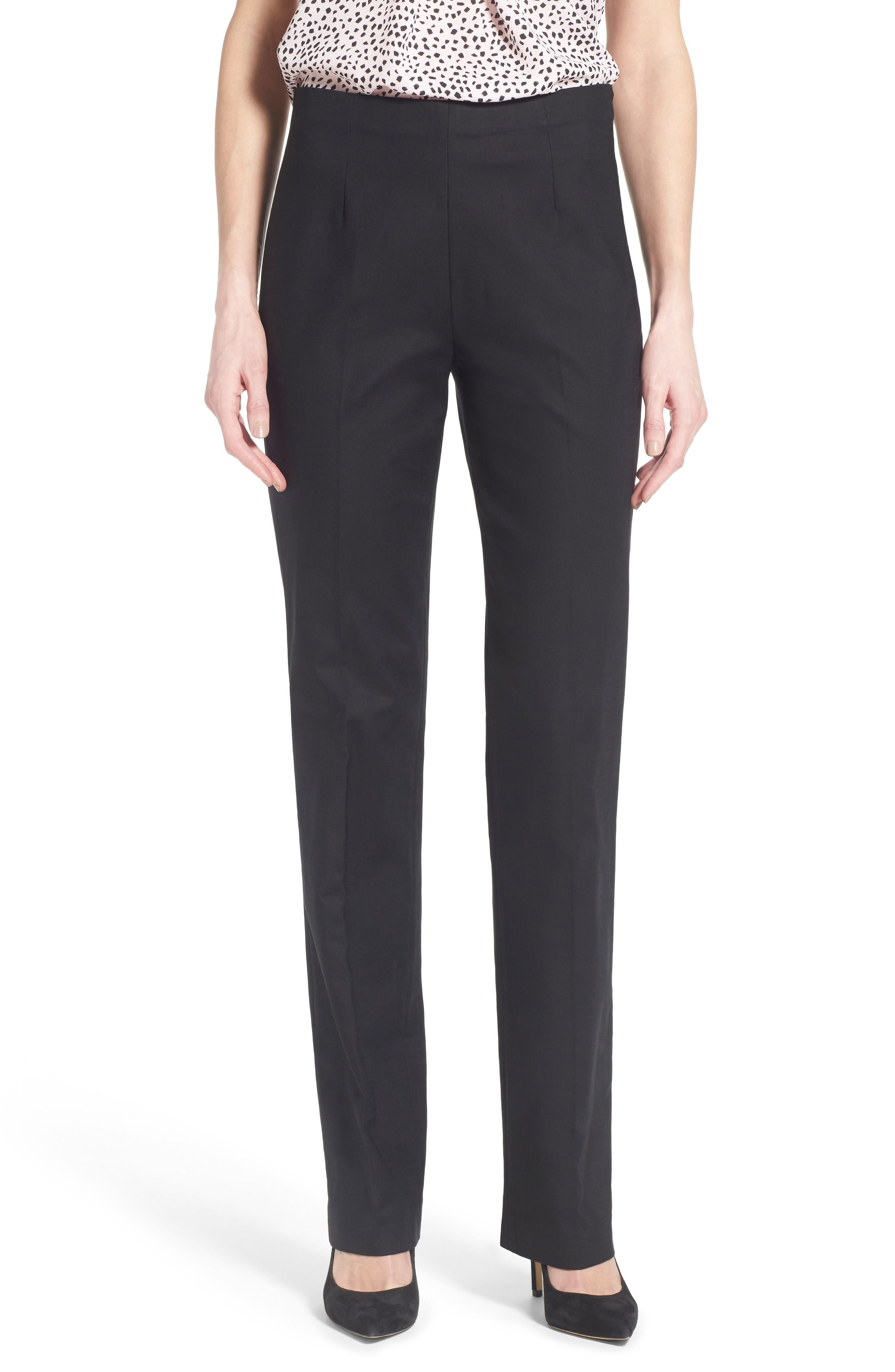 Size 2 black dress pants rolled