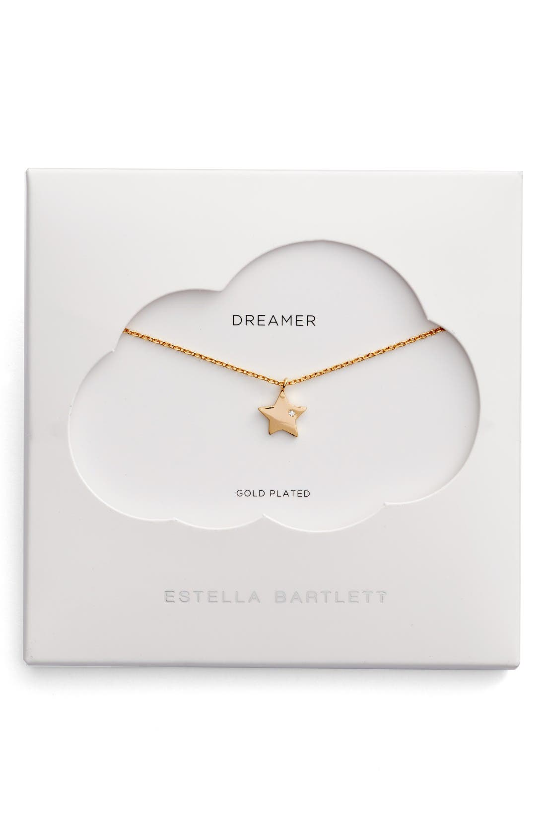 Alternate Image 1 Selected - Estella Bartlett Dreamers Star Necklace
