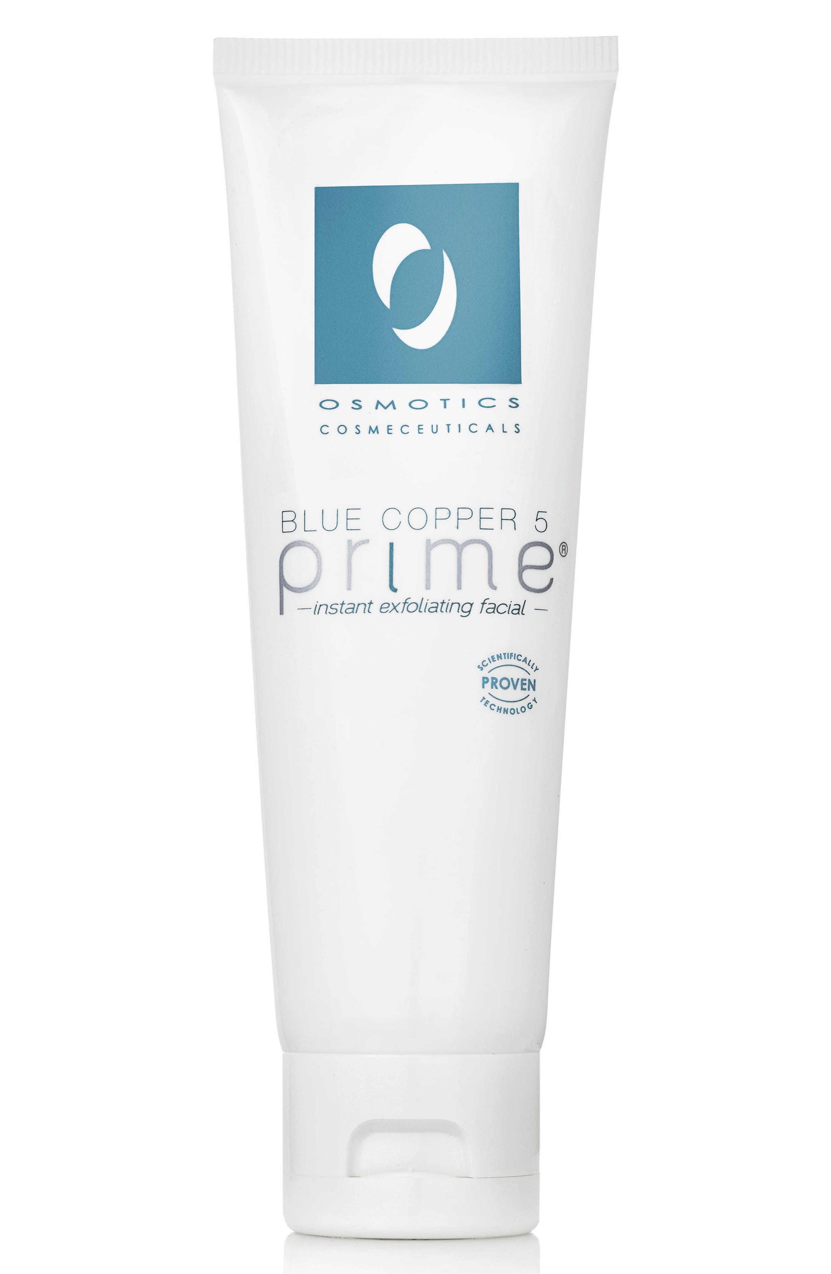 Blue Copper 5 Prime Instant Exfoliating Facial,                             Main thumbnail 1, color,                             No Color