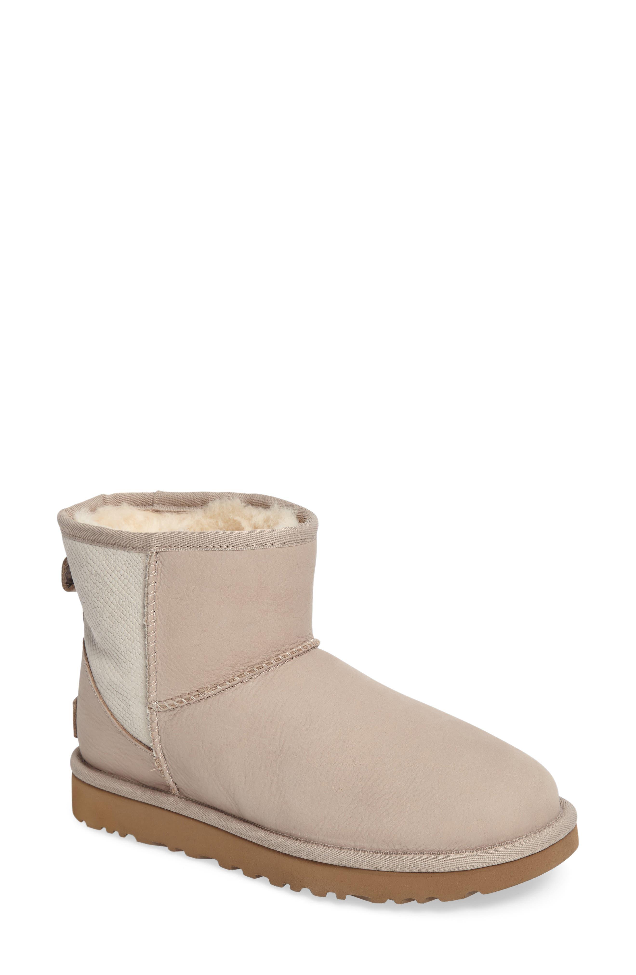 UGG® Classic Mini Snake Boot (Women)