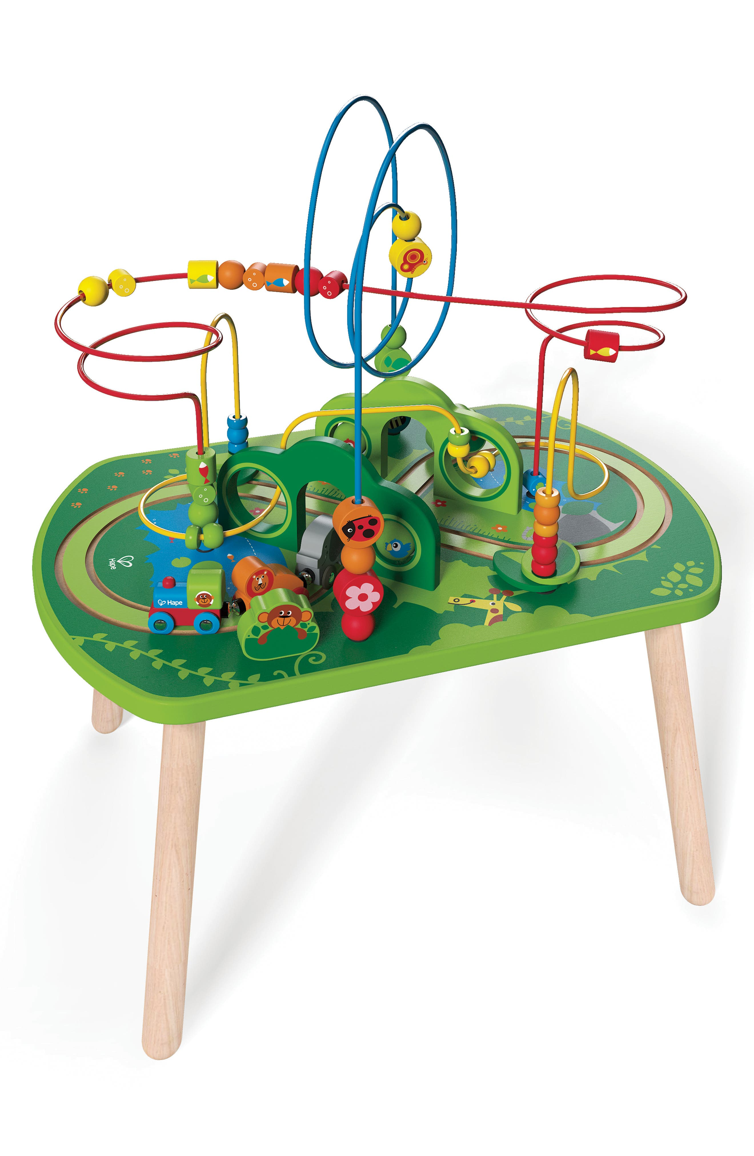 Alternate Image 1 Selected - Hape Jungle Play & Train Activity Table