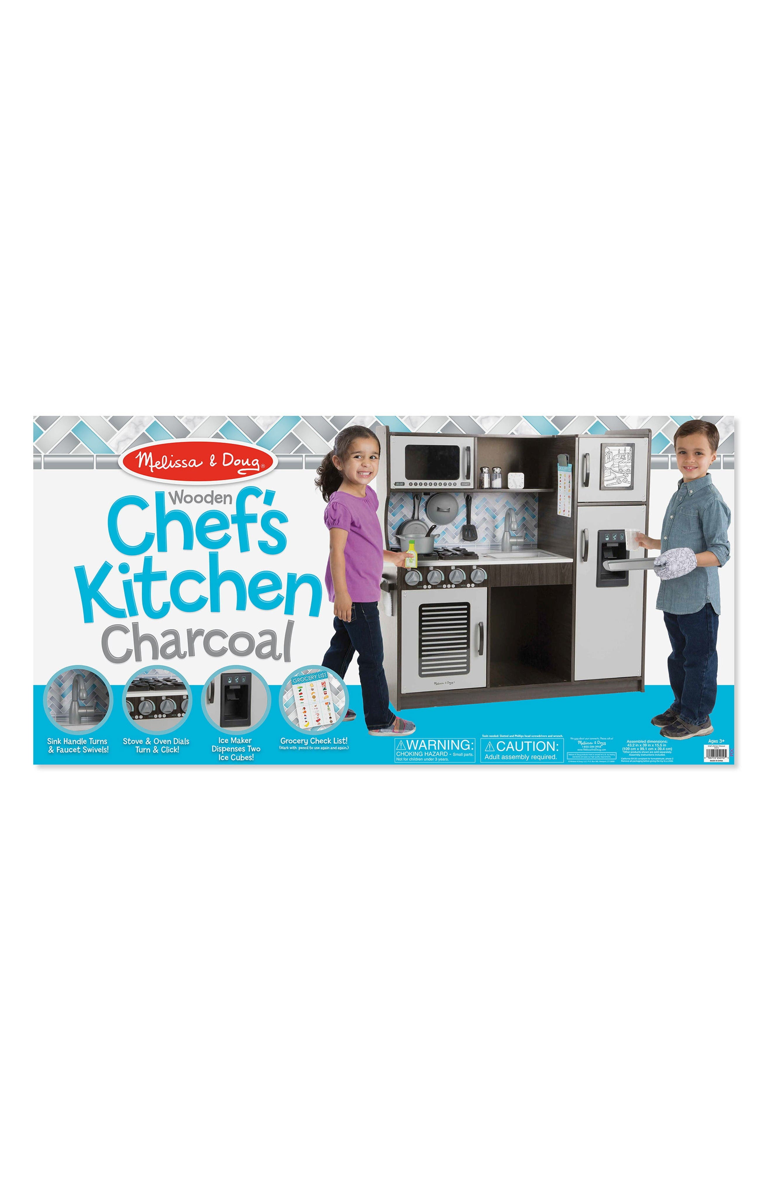 Alternate Image 4  - Melissa & Doug Wooden Chef's Kitchen