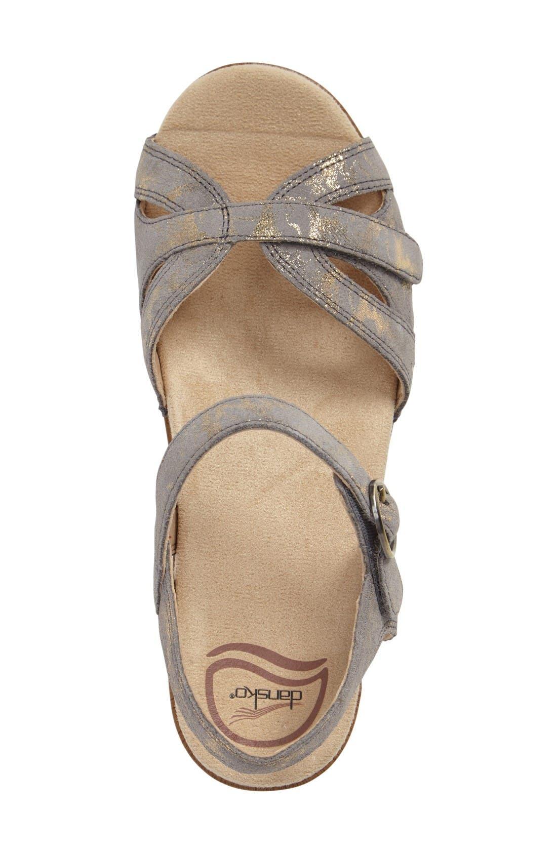 Season Sandal,                             Alternate thumbnail 3, color,                             Stone Leather