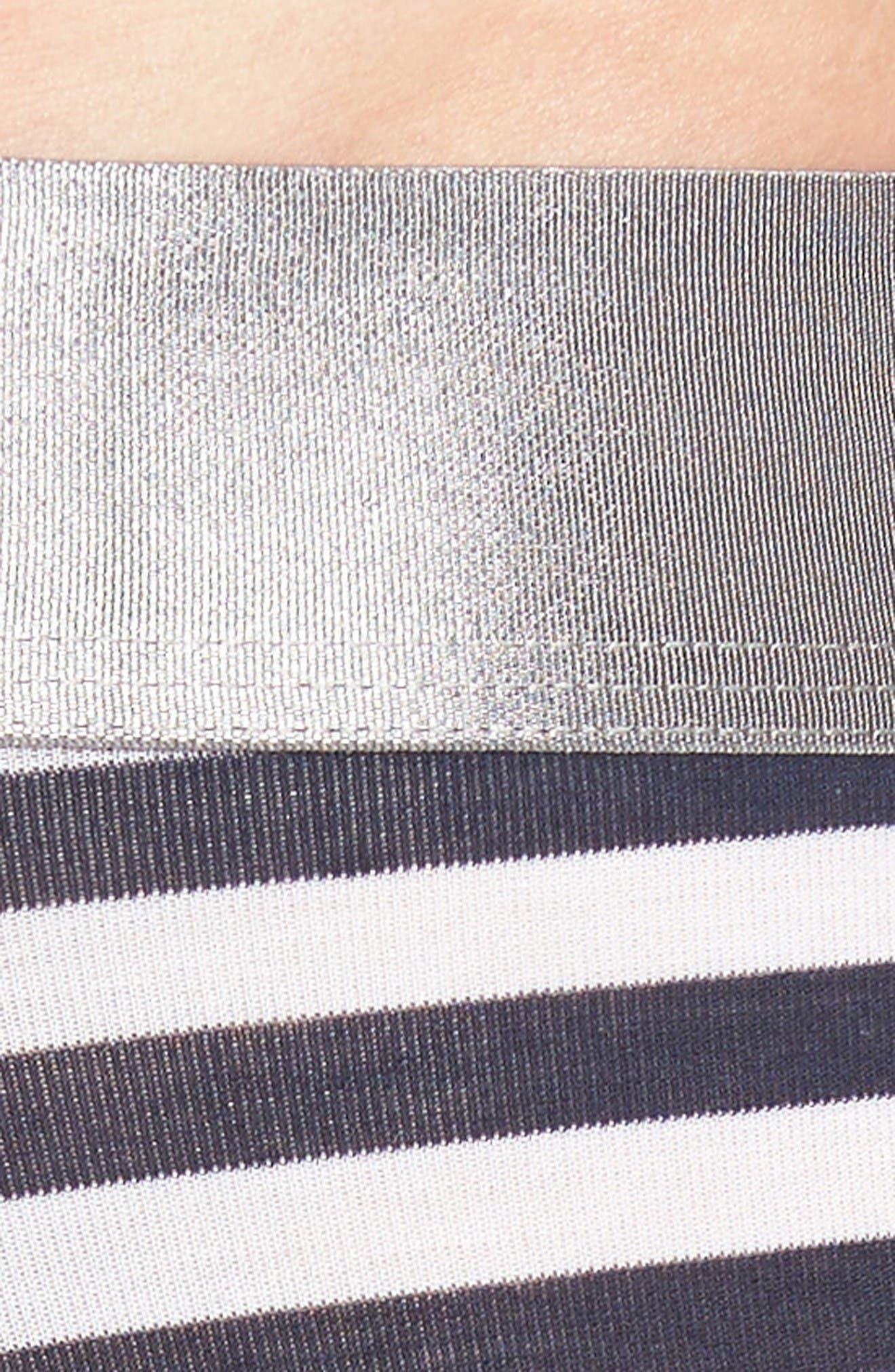 Second Skin Titanium Boxer Briefs,                             Alternate thumbnail 4, color,                             Dress Blues Stripe