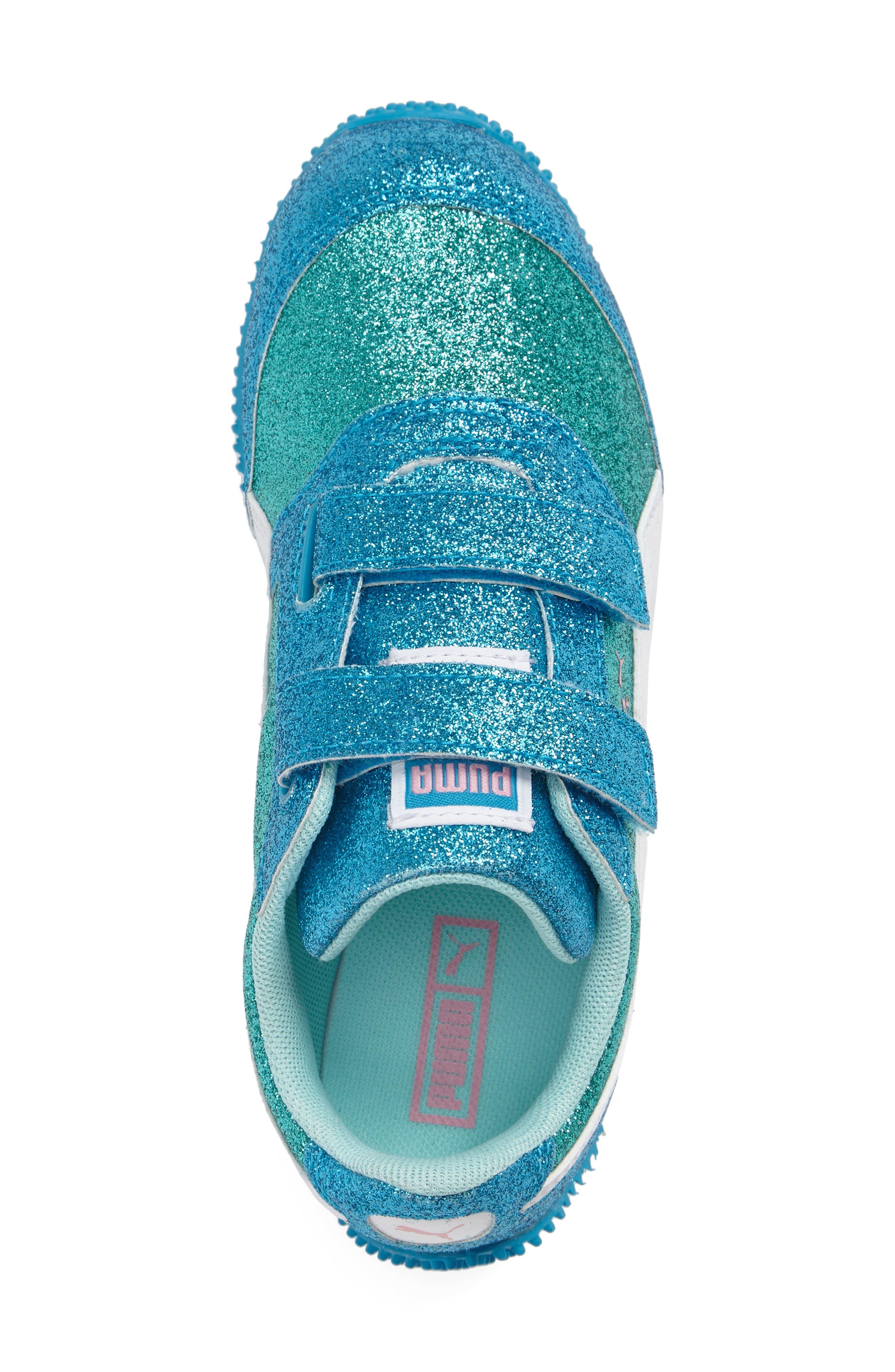 Alternate Image 3  - PUMA Steeple Glitz Glam Sneaker (Baby, Walker, Toddler, Little Kid & Big Kid)