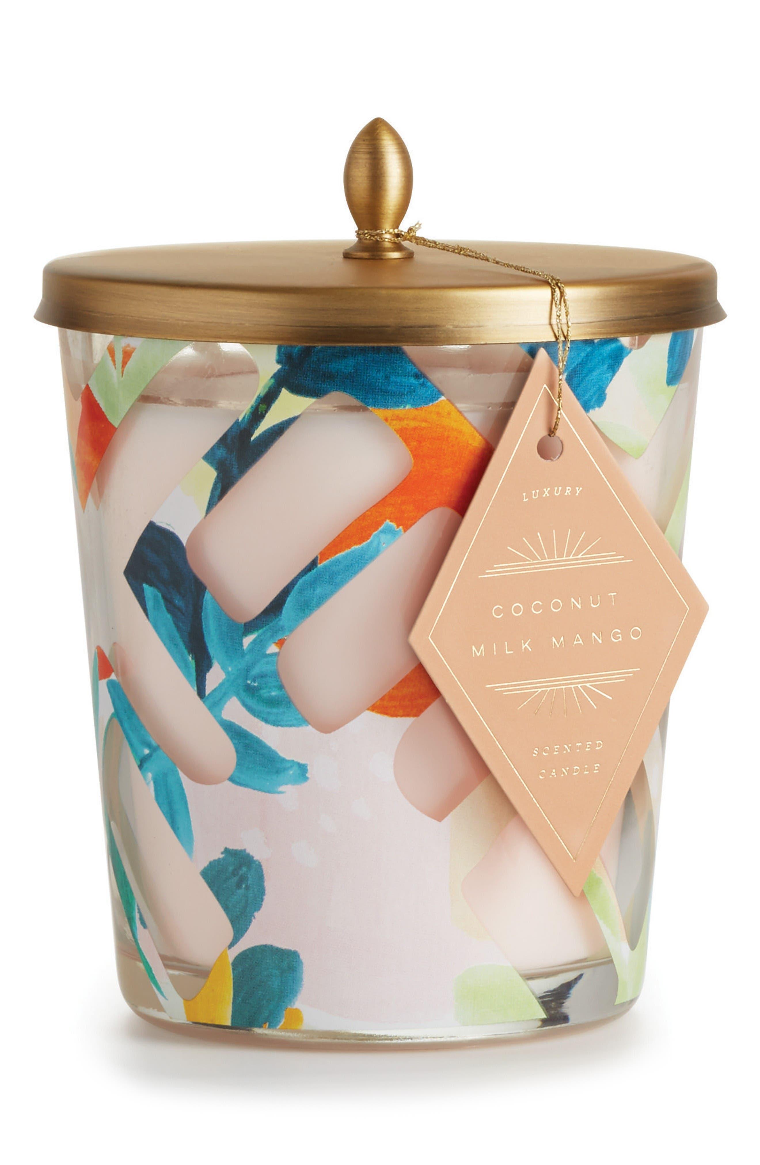 Cameo Jar Candle,                         Main,                         color, Coconut Milk/ Mango