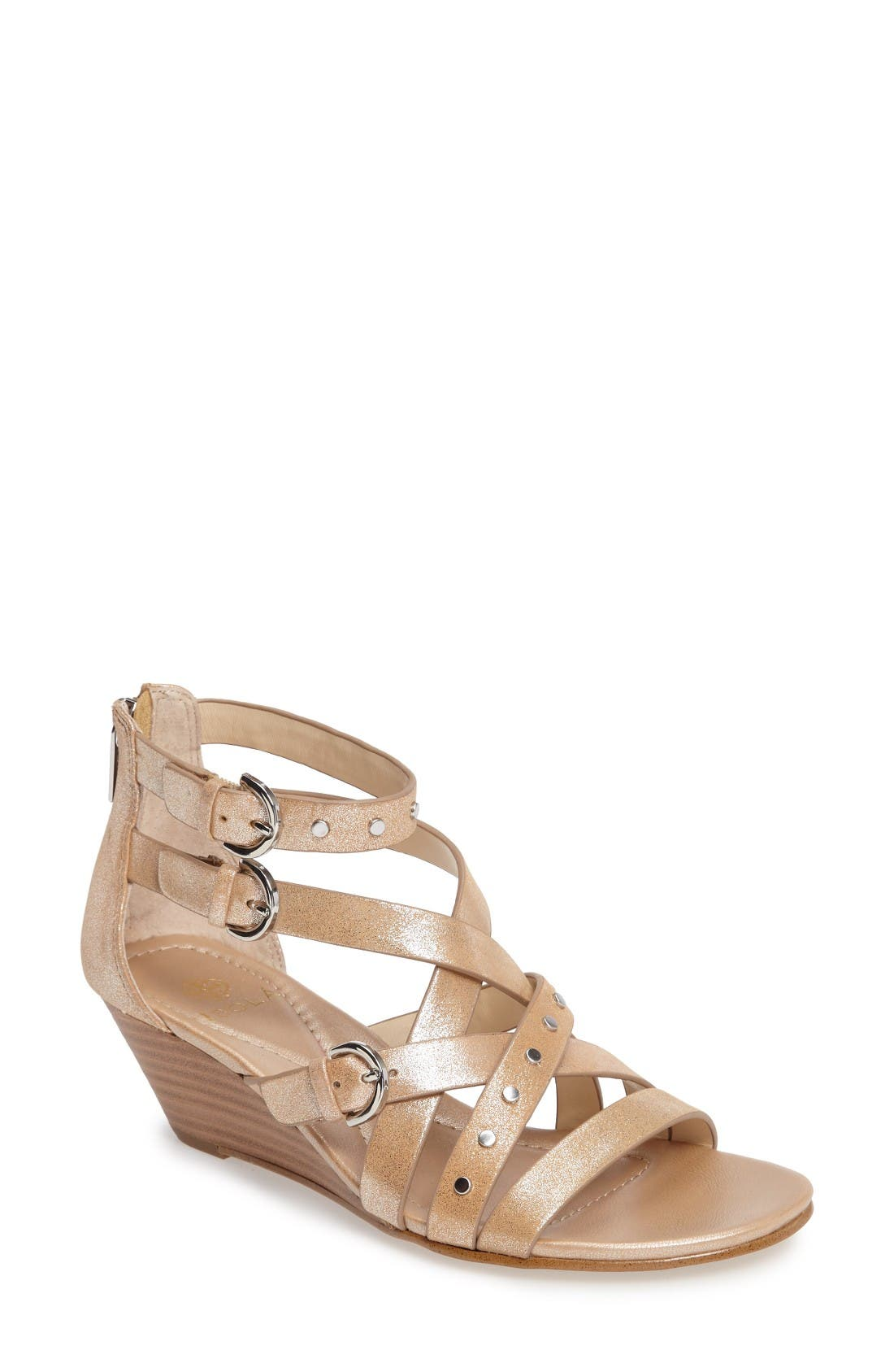 Isolá Petra Strappy Wedge Sandal (Women)