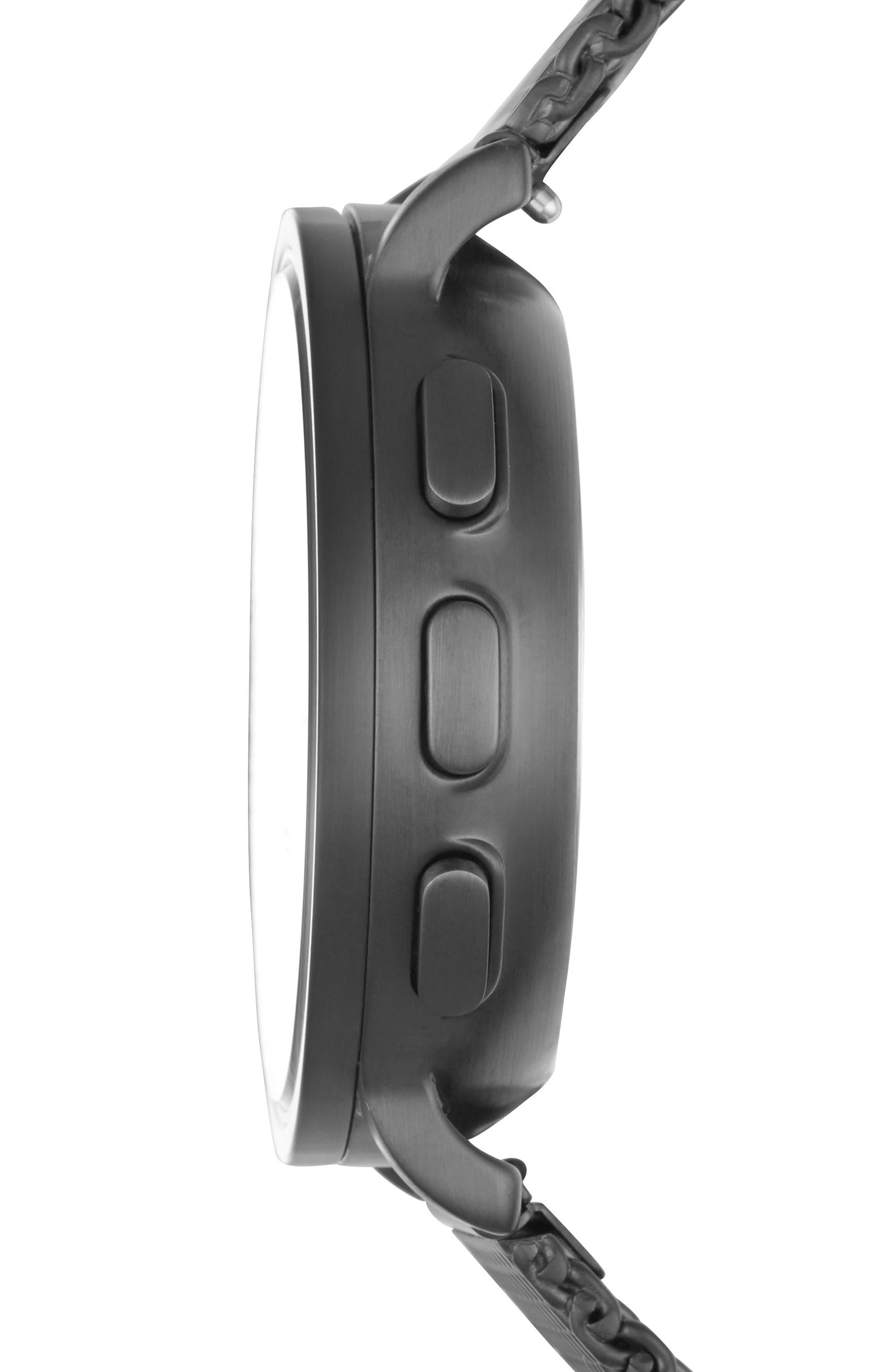 Alternate Image 3  - Skagen Hagen Connected Mesh Strap Hybrid Smart Watch, 42mm