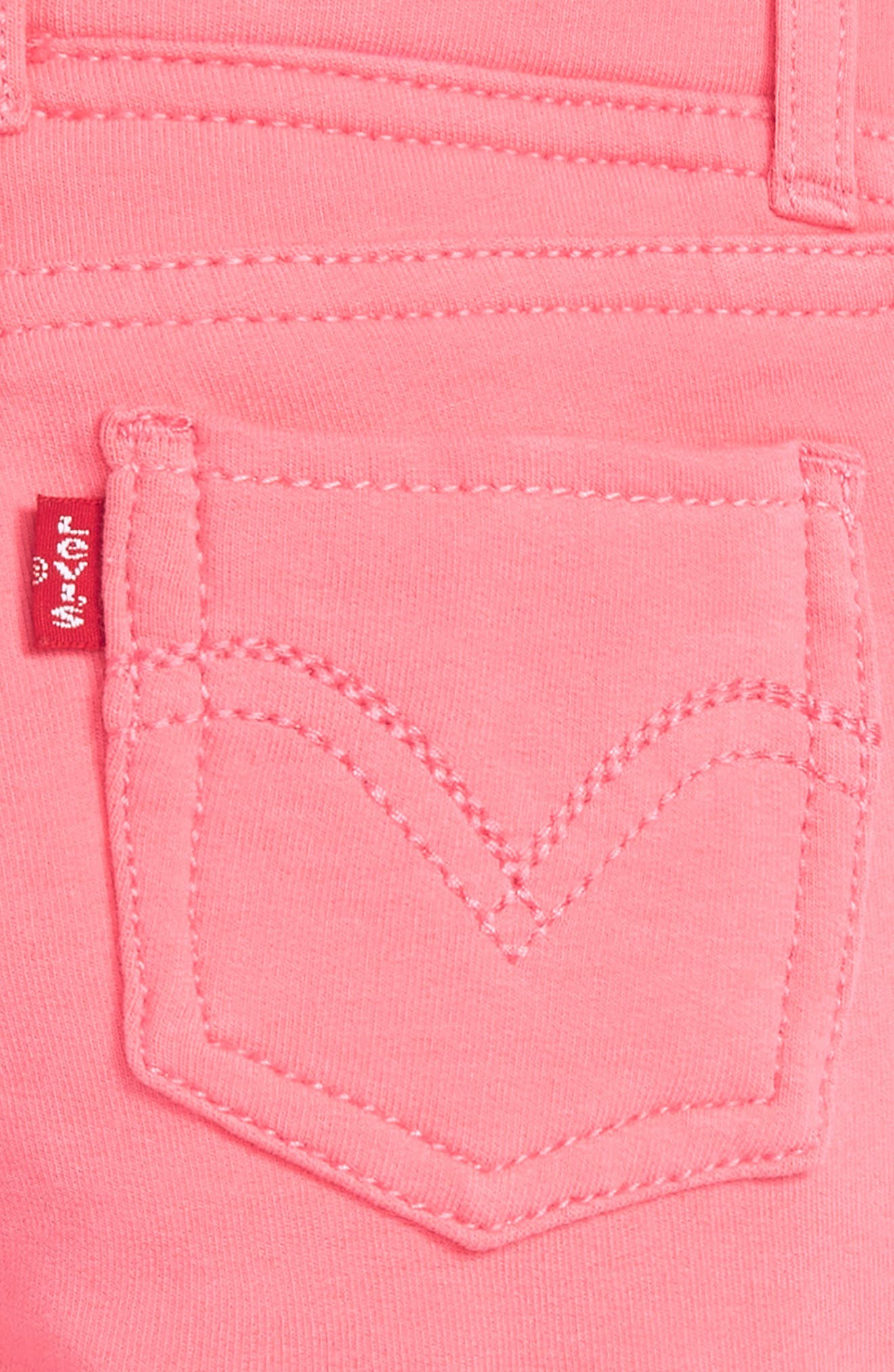 Haley May Leggings,                             Alternate thumbnail 3, color,                             Strawberry Pink