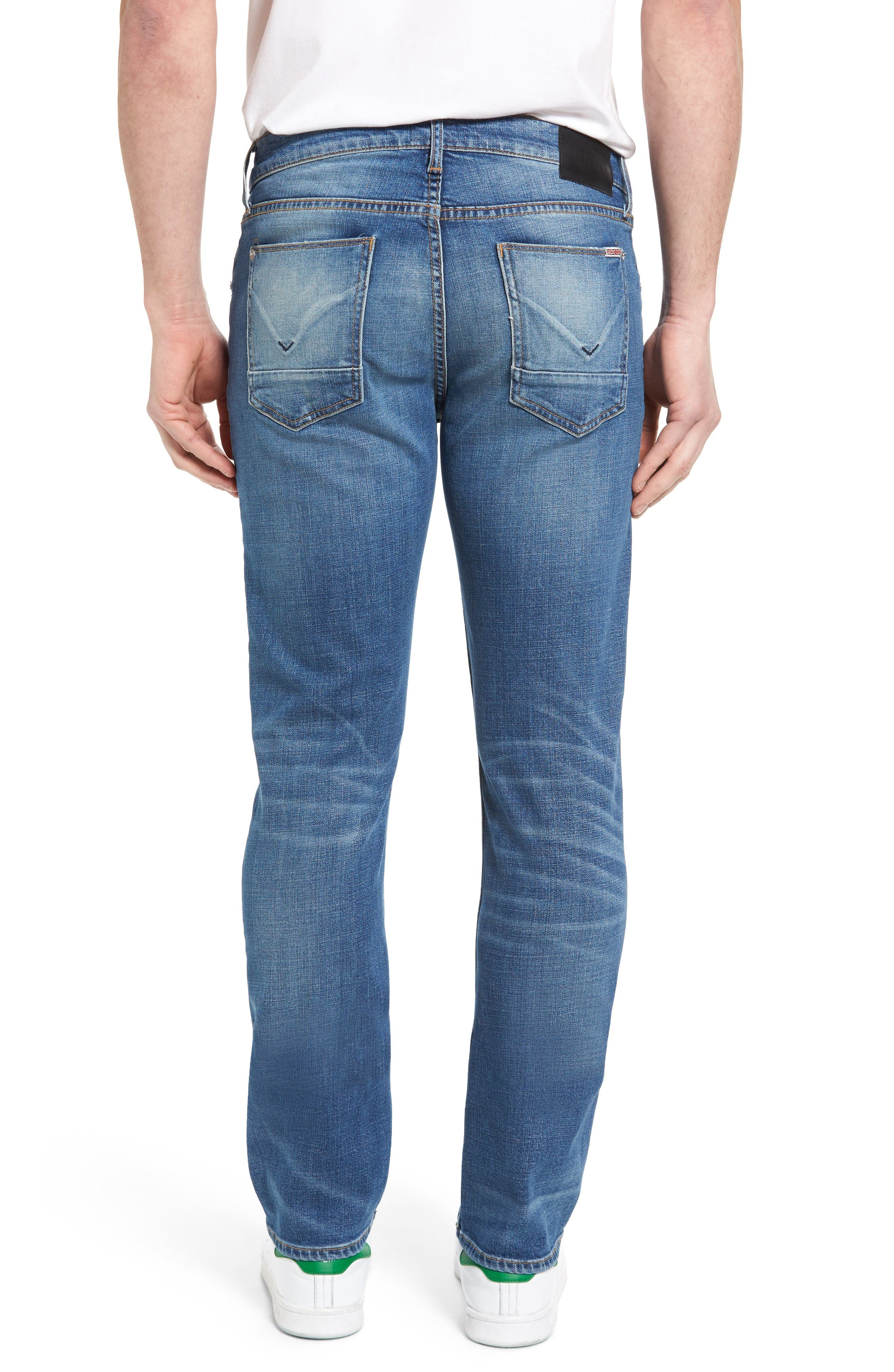 Alternate Image 2  - Hudson Jeans Byron Slim Straight Leg Jeans (Normandy)