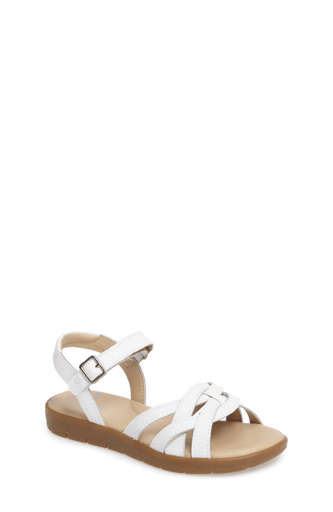 Millie Sandal,                             Main thumbnail 1, color,                             White