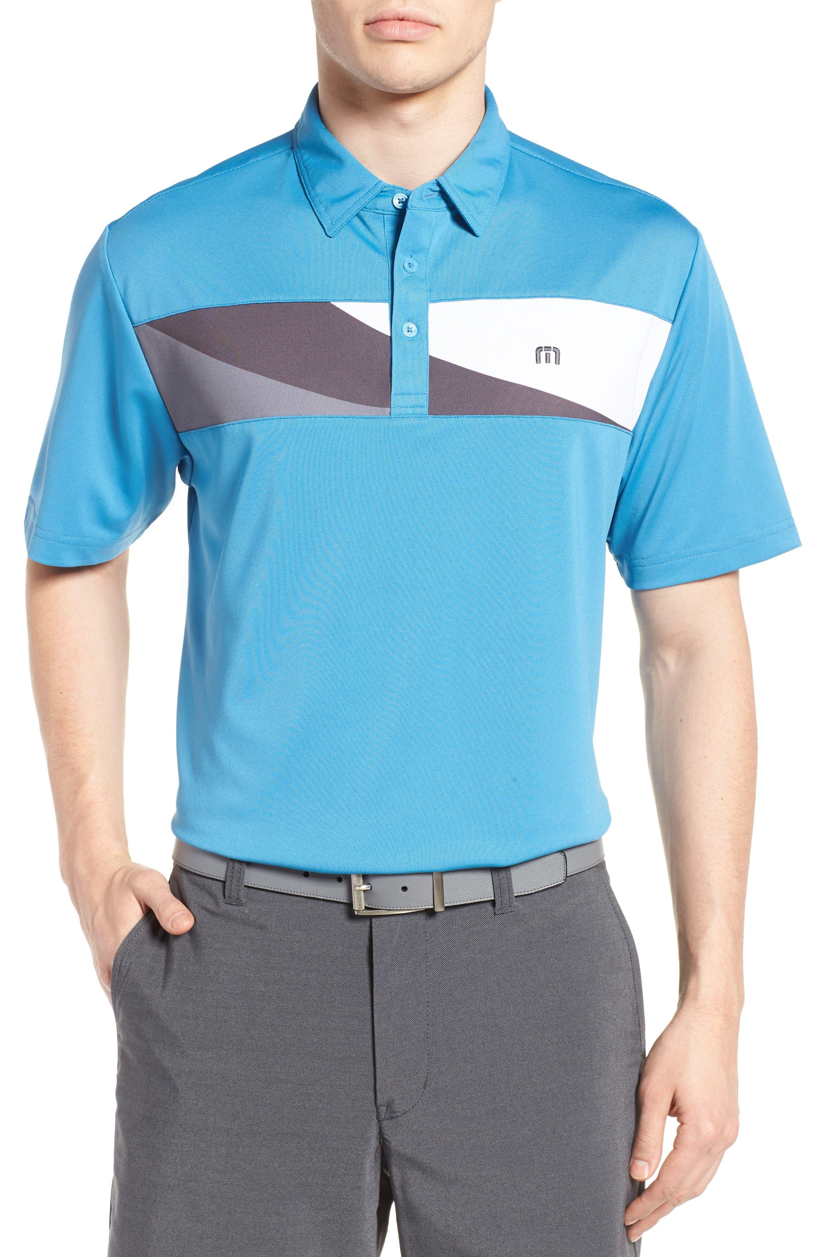 Foust Polo,                         Main,                         color, Cendre Blue