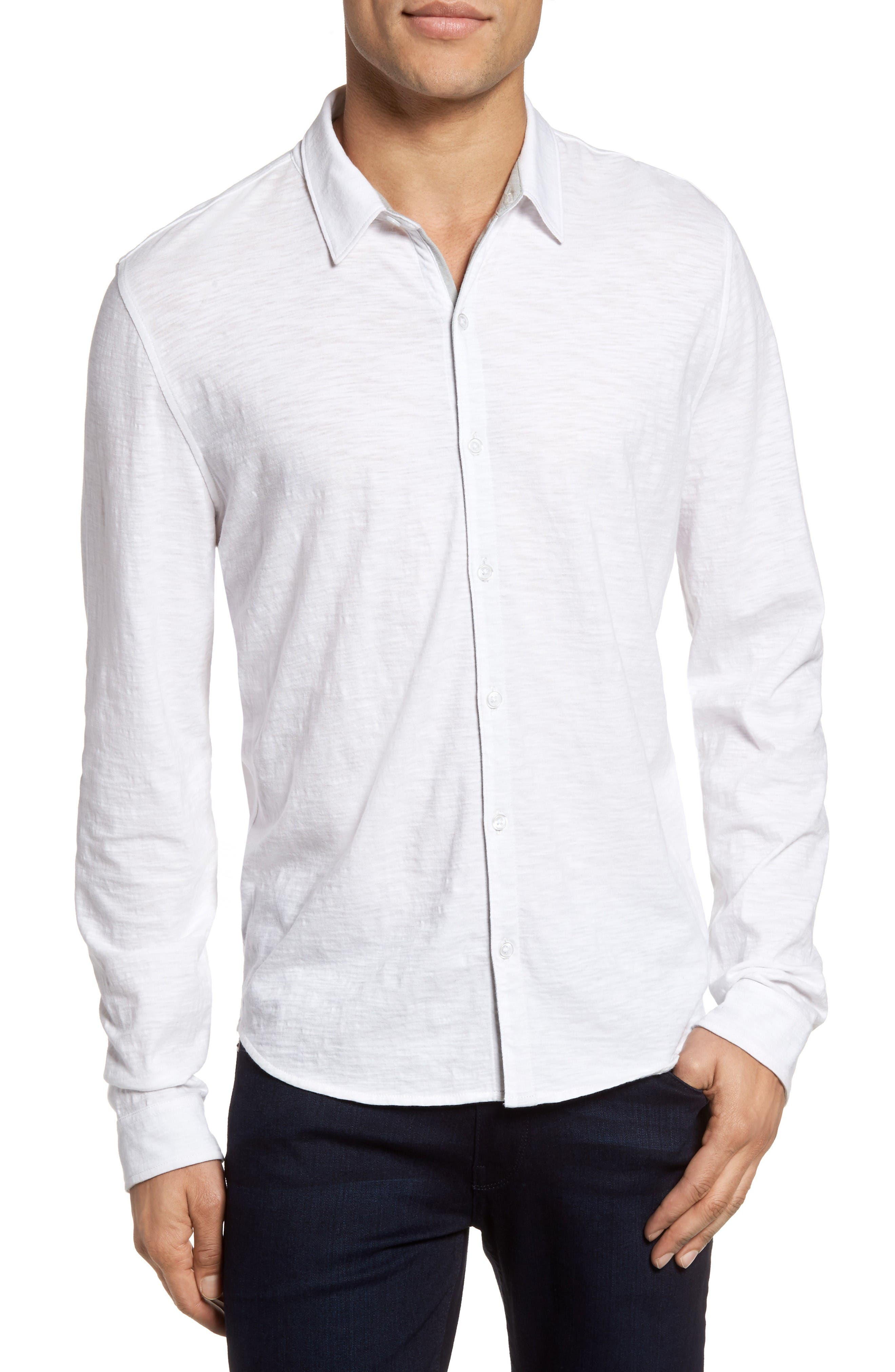 Alternate Image 1 Selected - Zachary Prell Camara Trim Fit Knit Sport Shirt