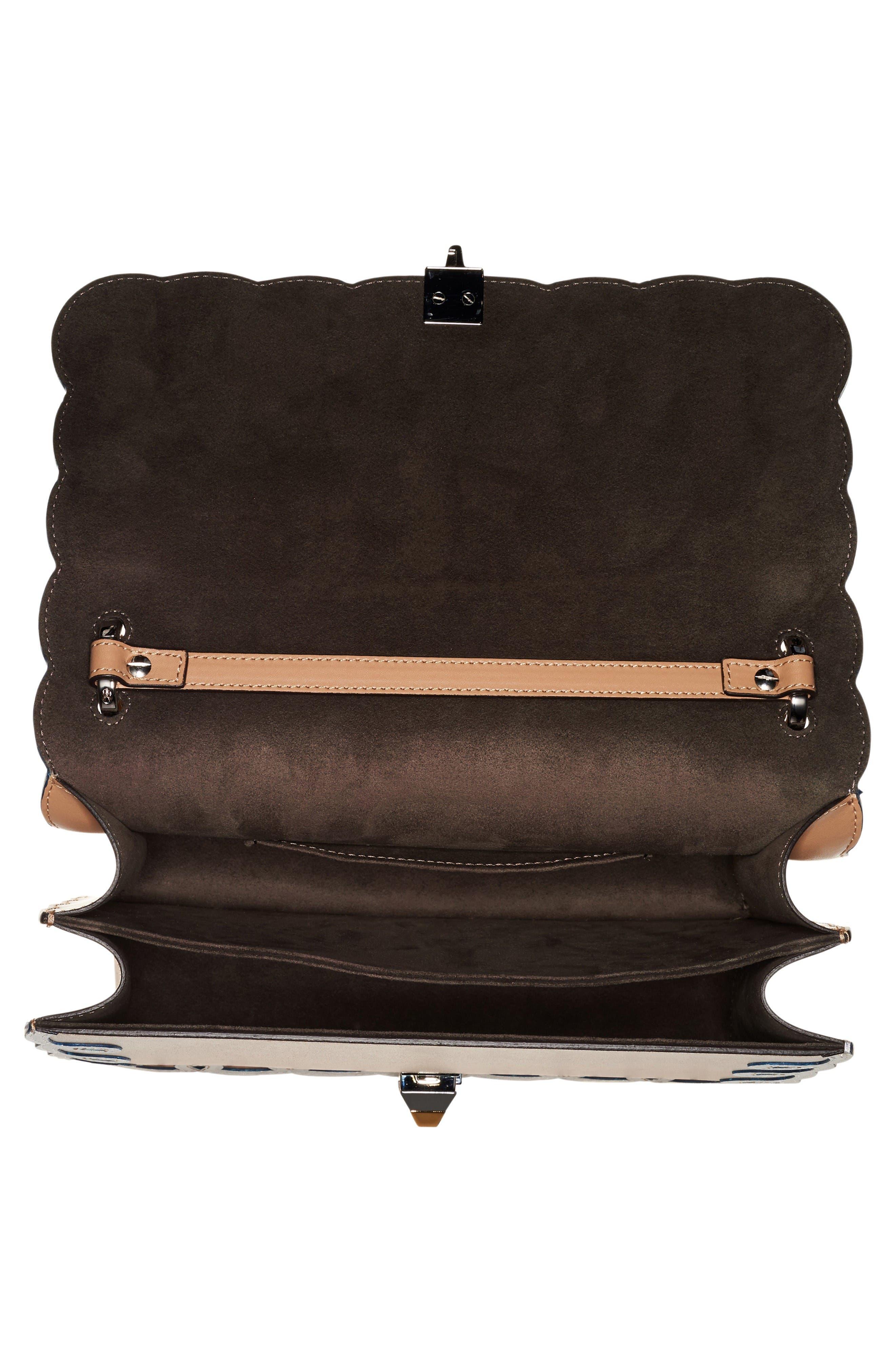 Alternate Image 3  - Fendi Kan I Scalloped Leather Shoulder Bag