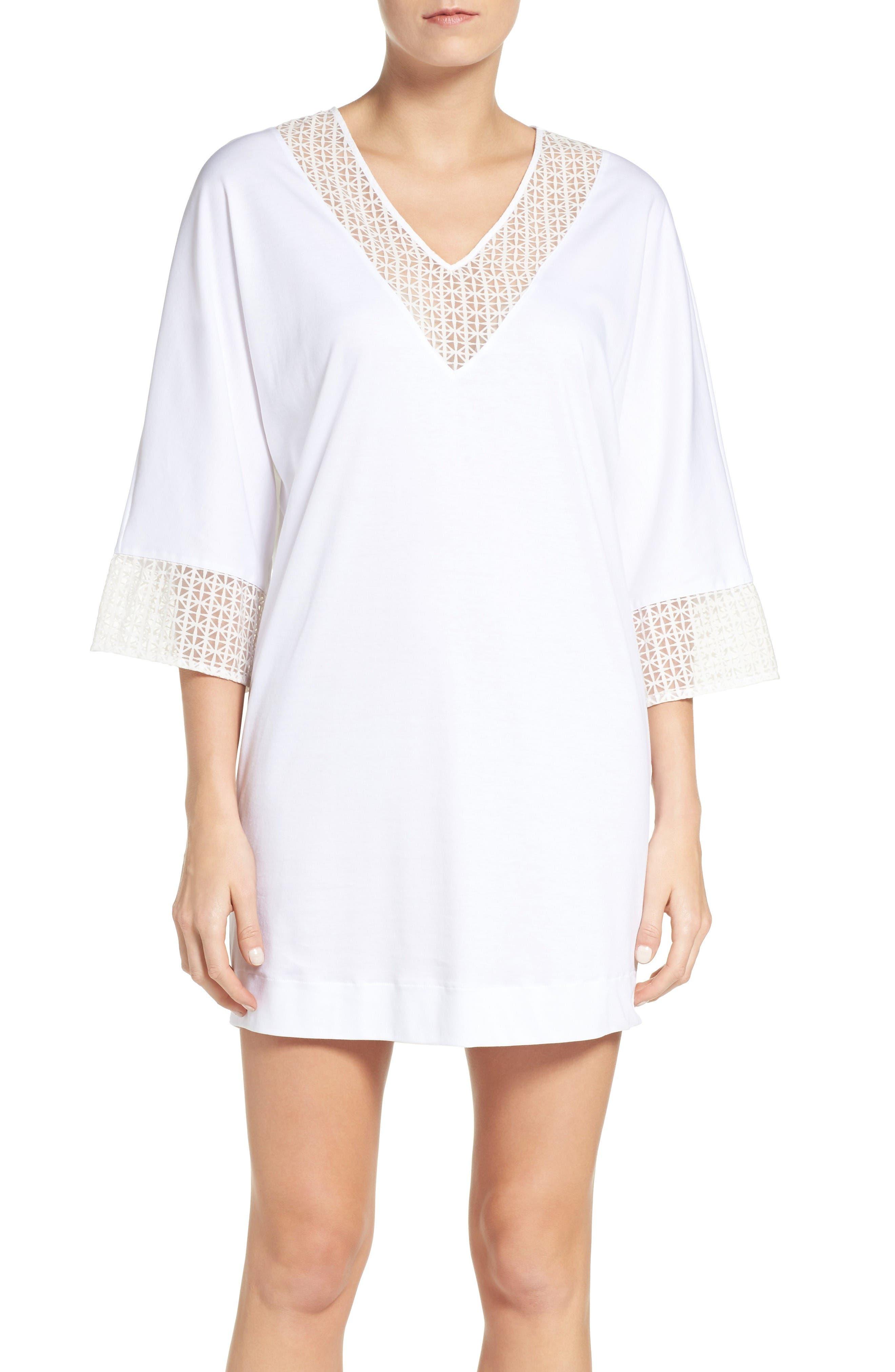 Main Image - Hanro Mathilde Sleep Shirt