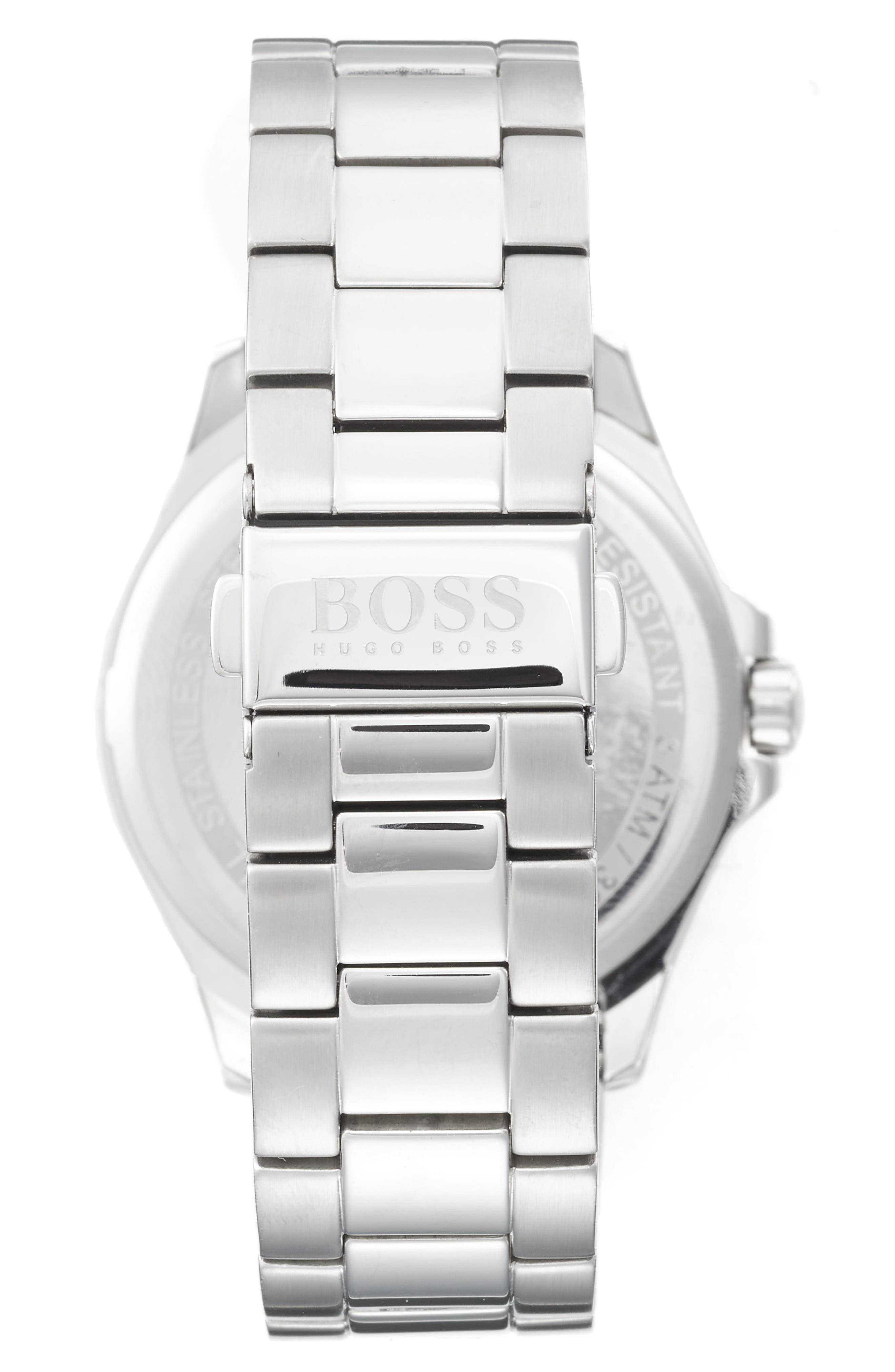 Alternate Image 2  - BOSS The James Bracelet Watch, 42mm