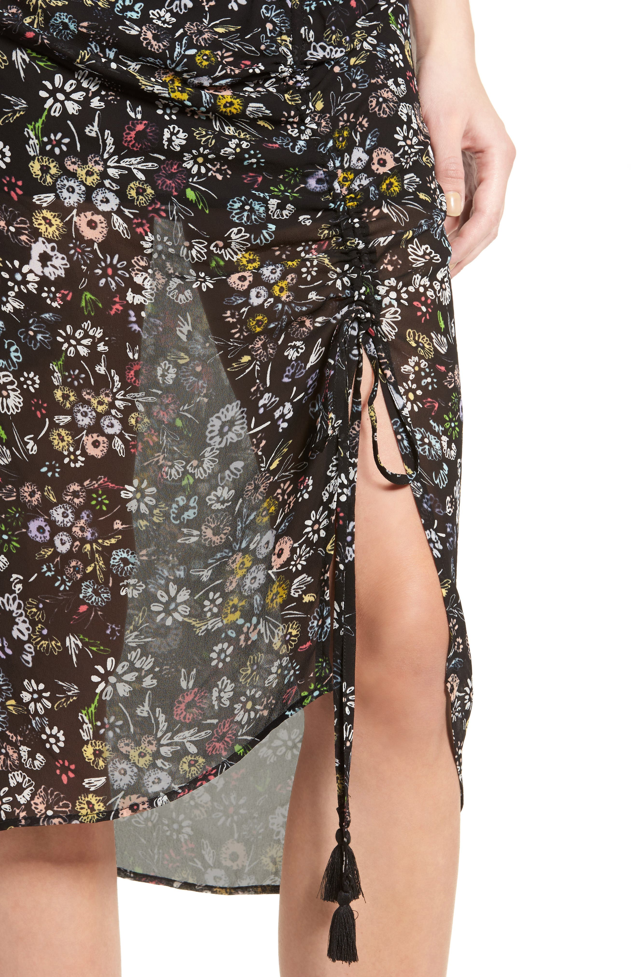 Alternate Image 5  - Rebecca Minkoff Romy Floral Print Skirt