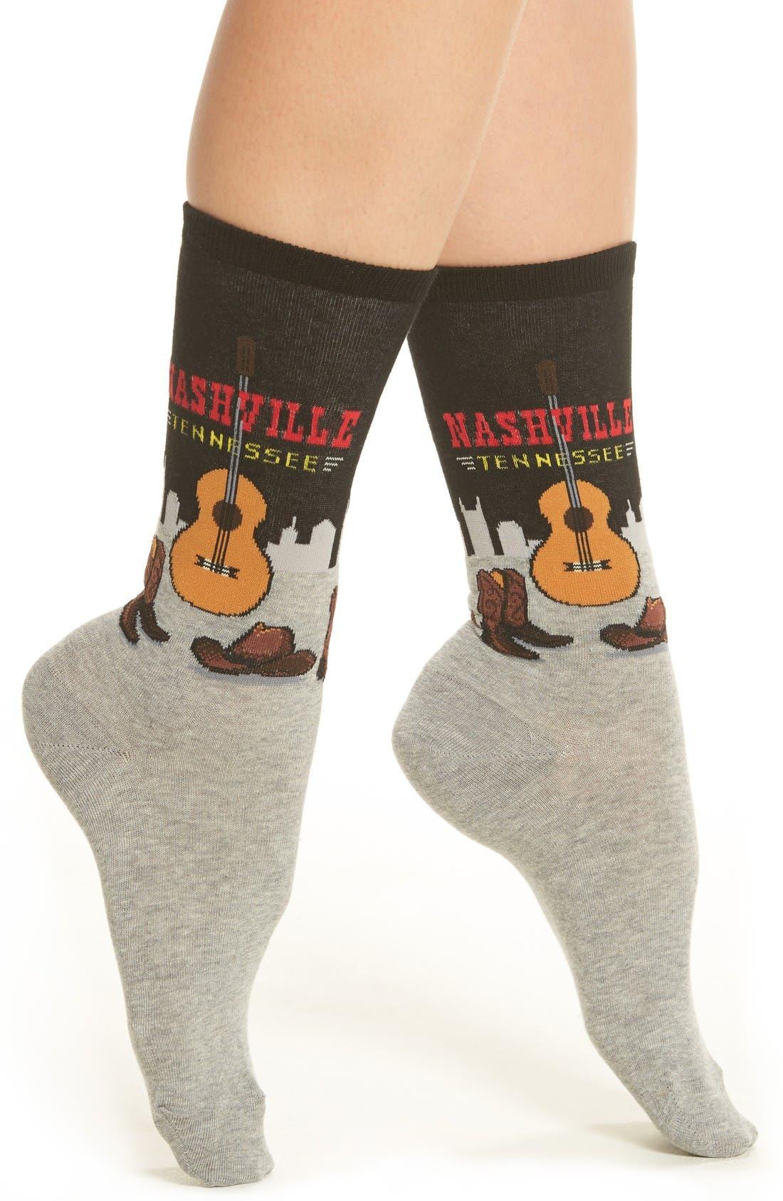 Hot Sox Nashville Crew Socks (3 for $15)