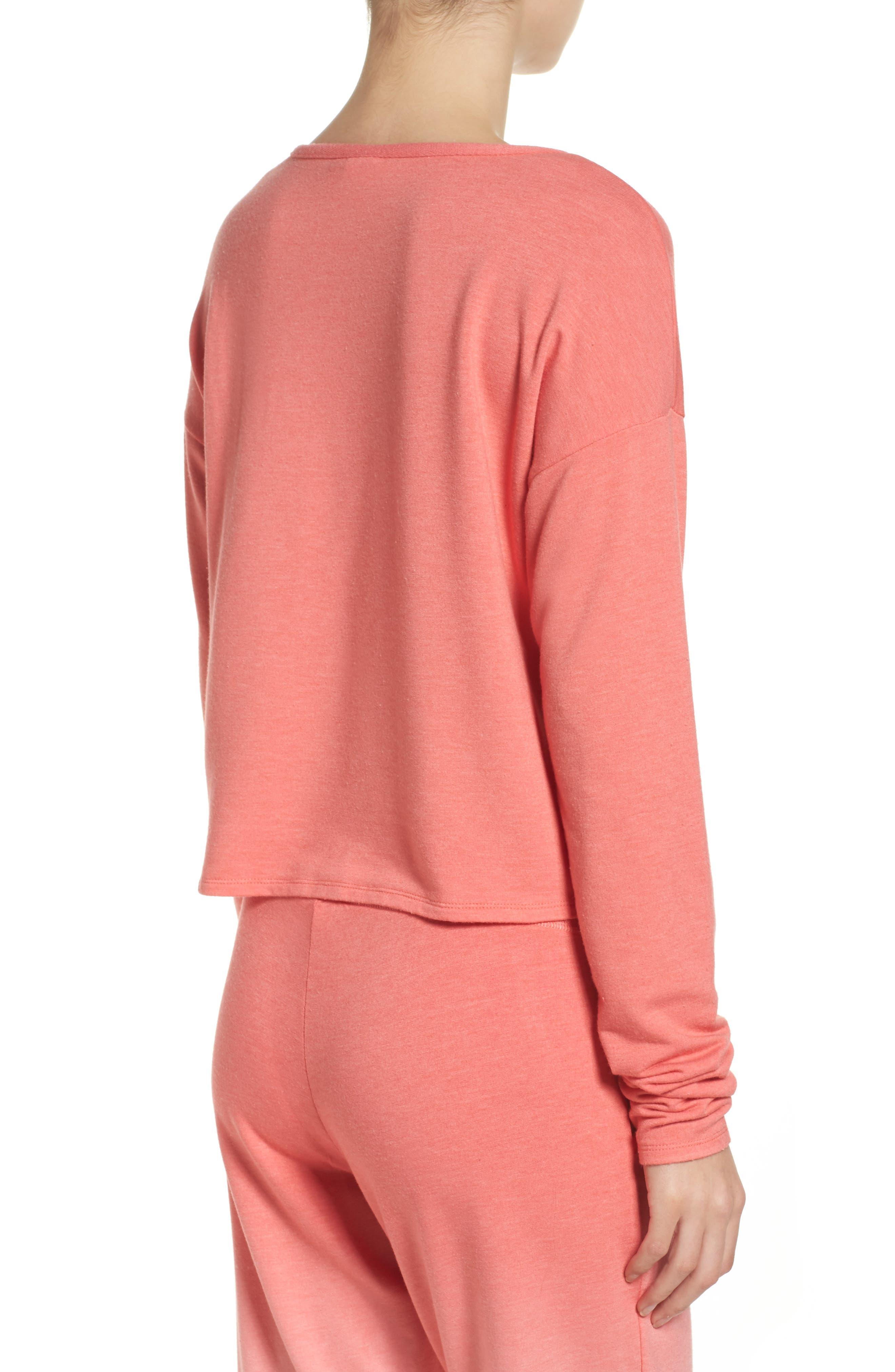Alternate Image 2  - Make + Model Sunrise Sweatshirt