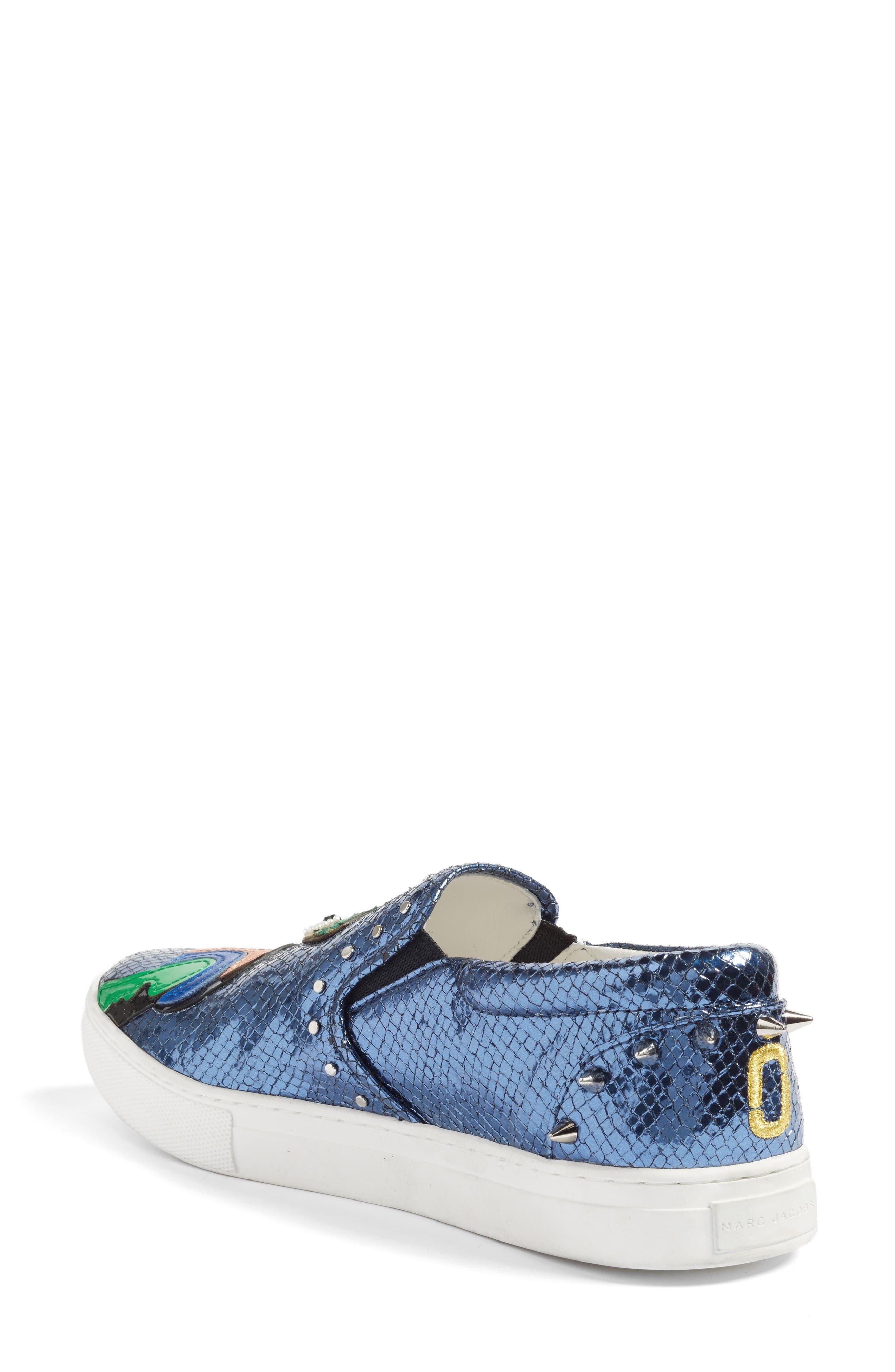 Alternate Image 2  - Marc Jacobs Mercer Embellished Slip-On Sneaker (Women)