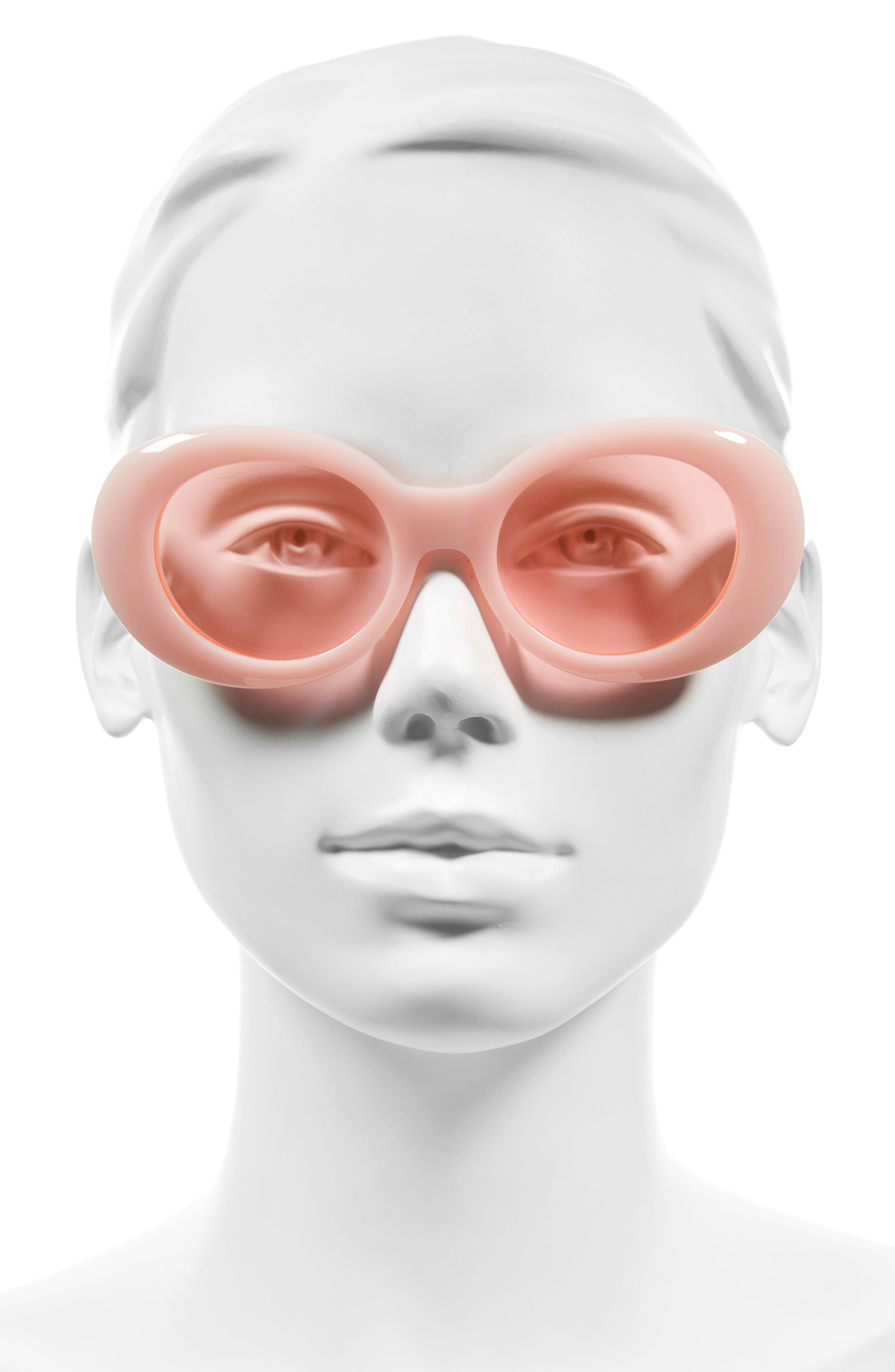 Alternate Image 2  - ACNE Studios Mustang 47mm Oval Sunglasses