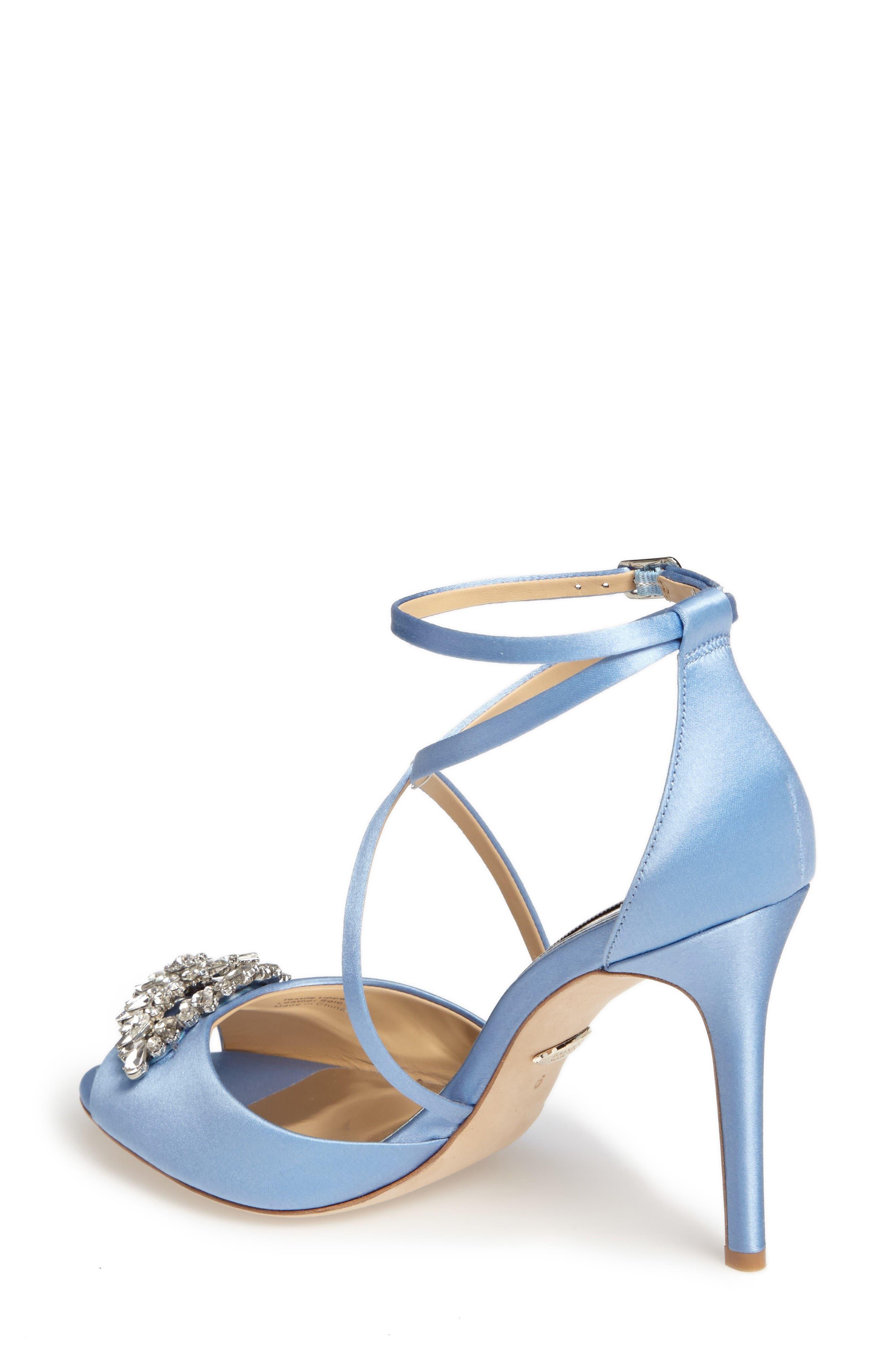 Alternate Image 2  - Badgley Mischka Tatum Embellished Strappy Sandal (Women)
