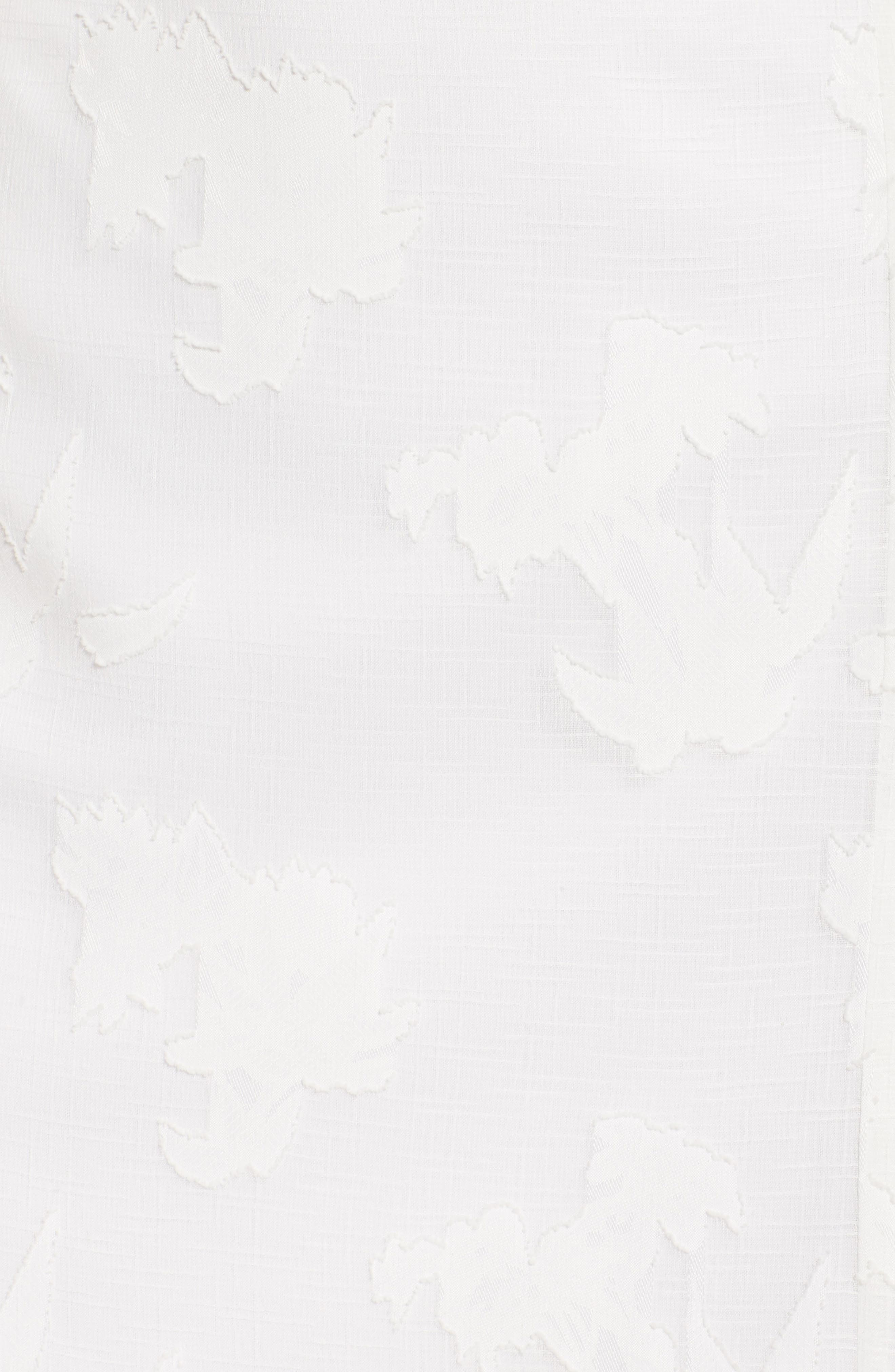 Two-Piece Dress,                             Alternate thumbnail 6, color,                             White Floral
