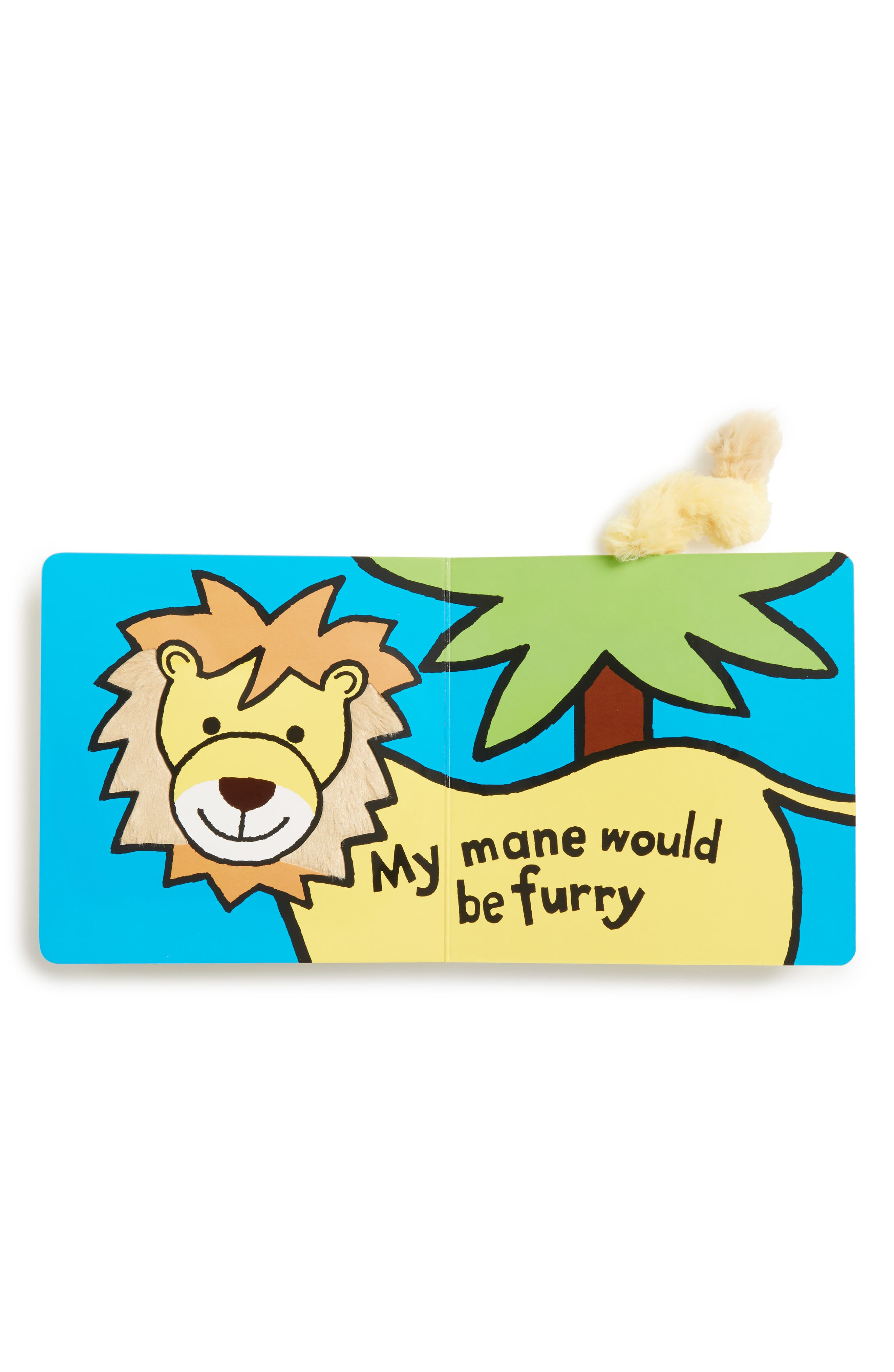 If I Were A Lion' Board Book,                             Alternate thumbnail 2, color,                             Brown