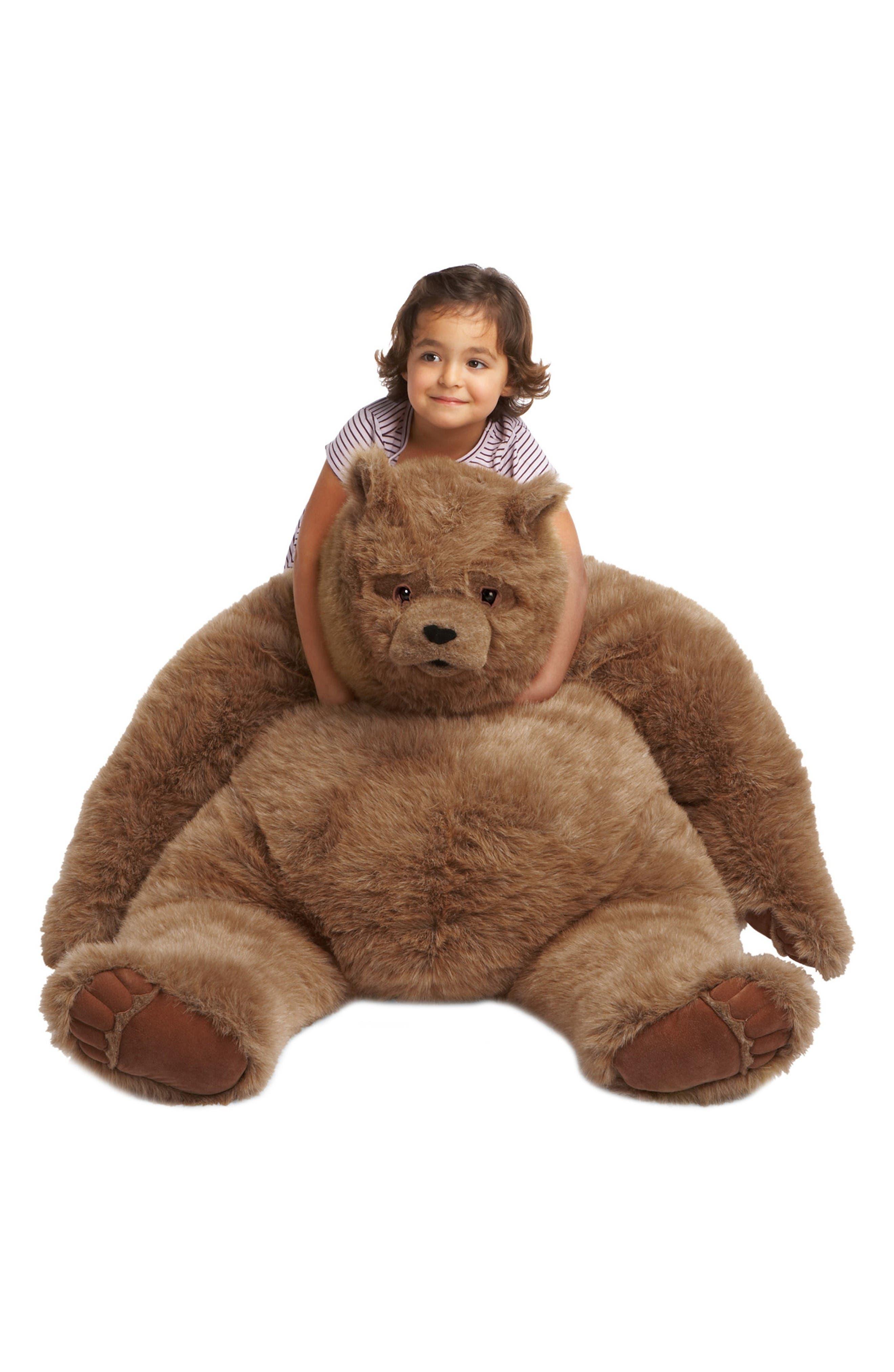 Alternate Image 2  - Manhattan Toy Jumbo Kodiak Bear Stuffed Animal