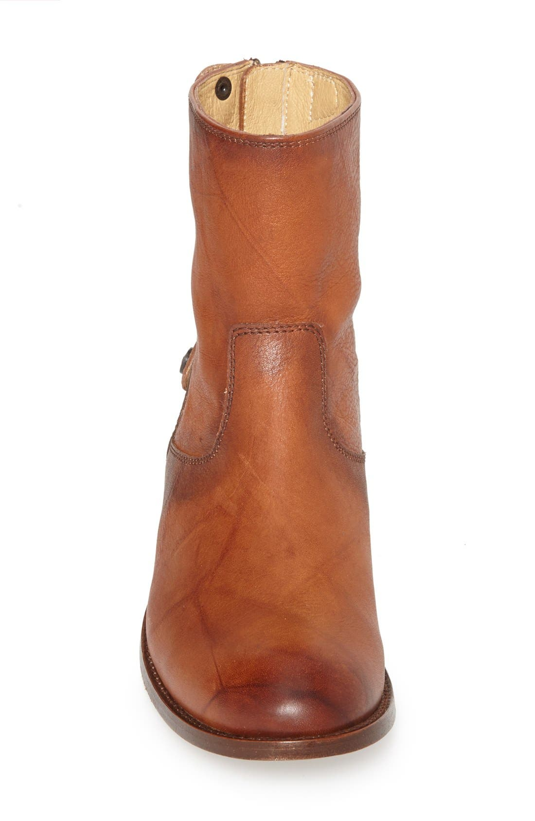 Alternate Image 3  - Frye 'Melissa Button' Zip Short Boot (Women)