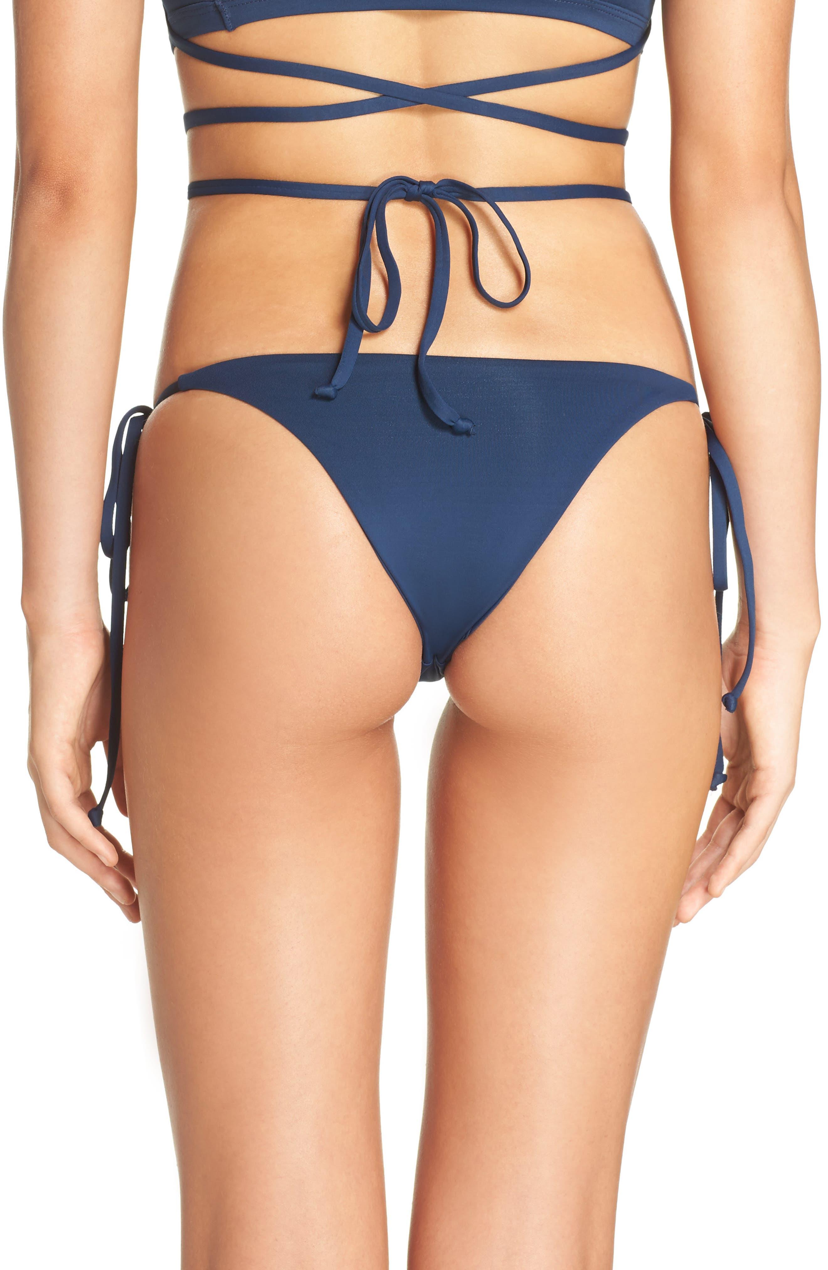 Frankies Bikinis Marley Side Tie Bottoms