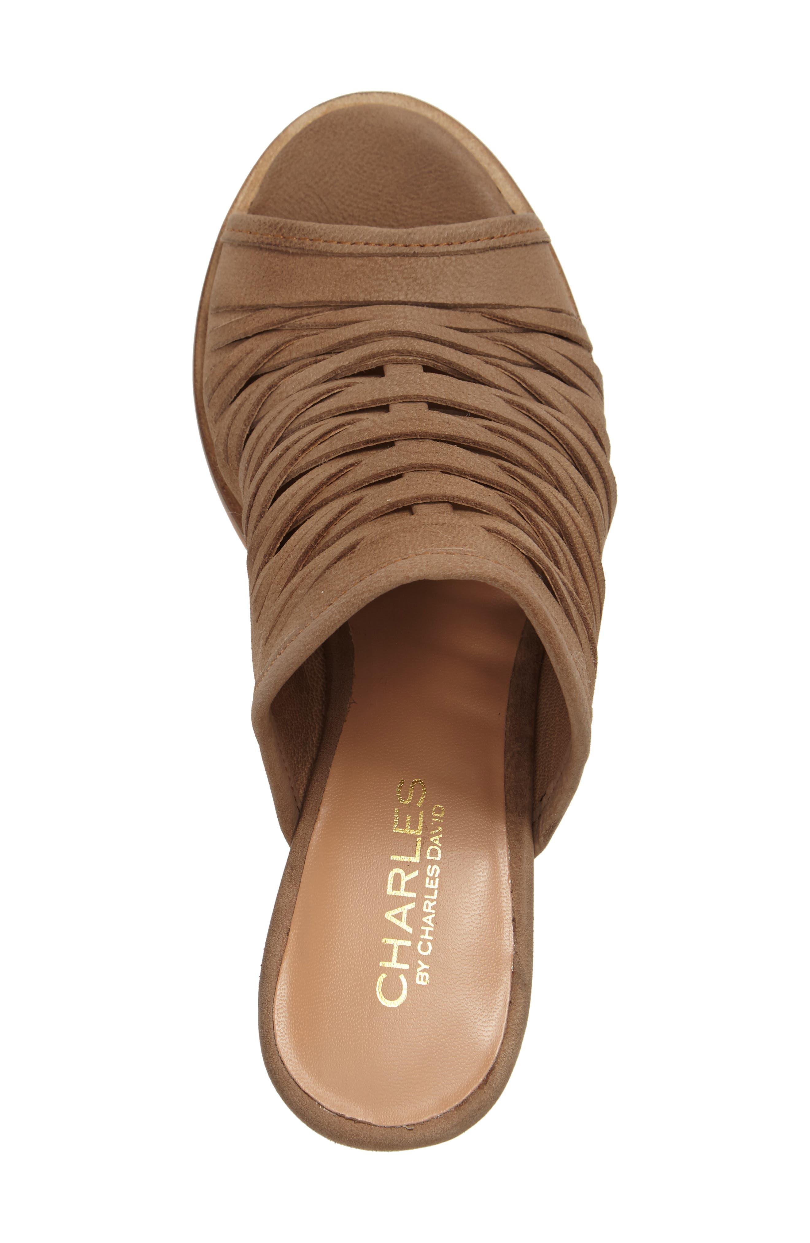Alternate Image 3  - Charles by Charles David Chris Slivered Sandal (Women)
