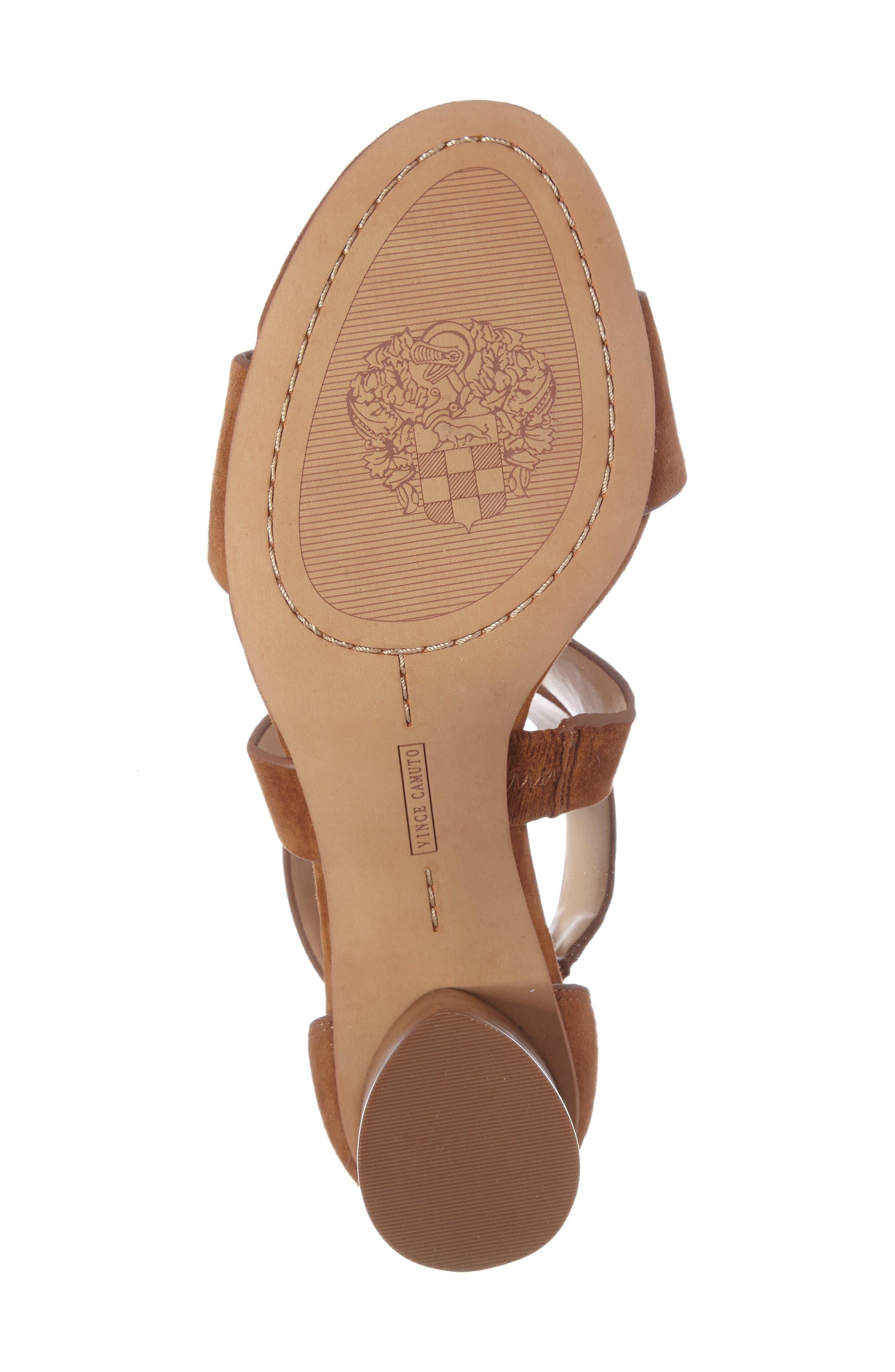 Alternate Image 4  - Vince Camuto Jeneve Block Heel Sandal (Women)