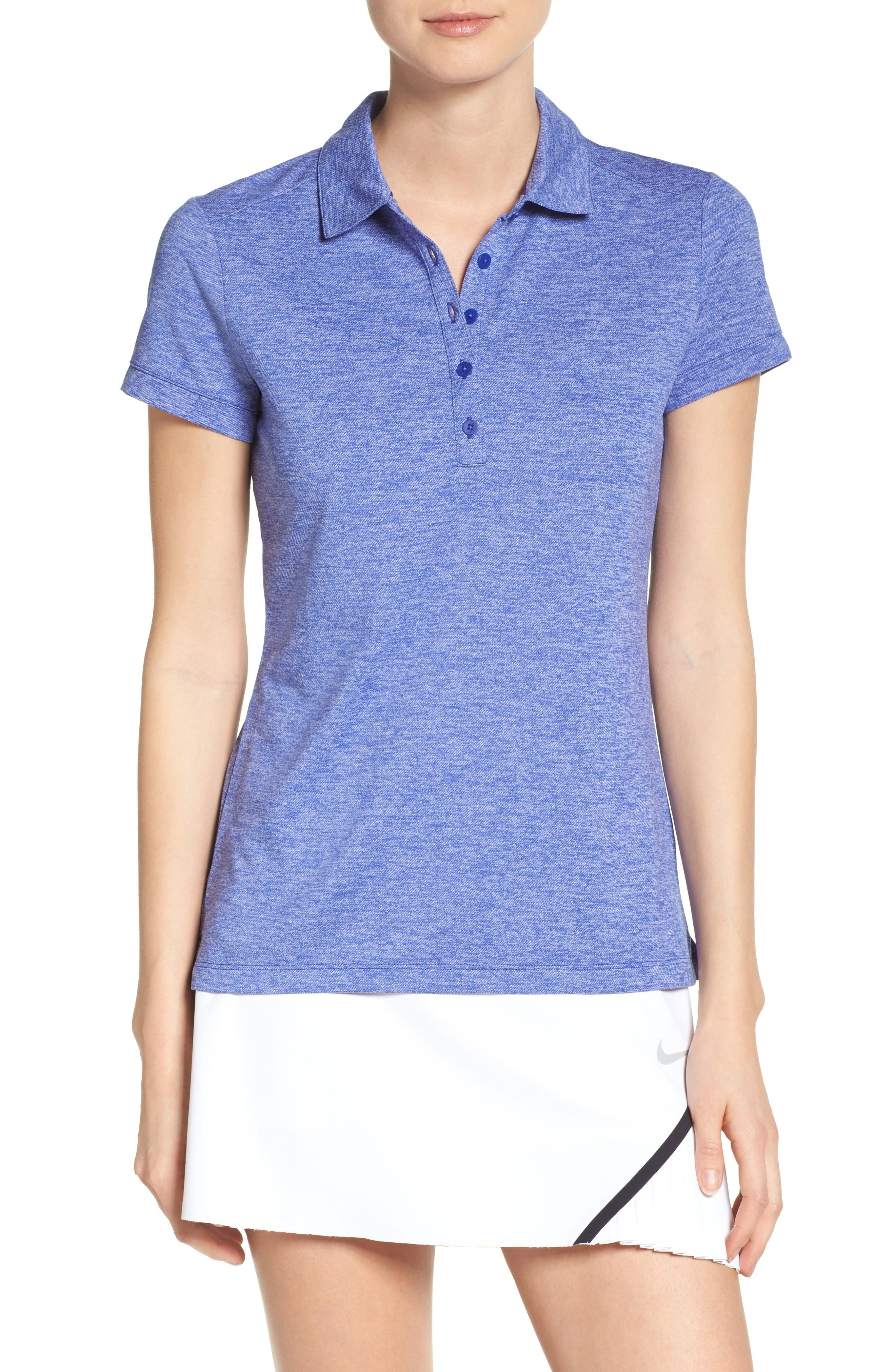 Nike 'Victory Texture' Golf Polo