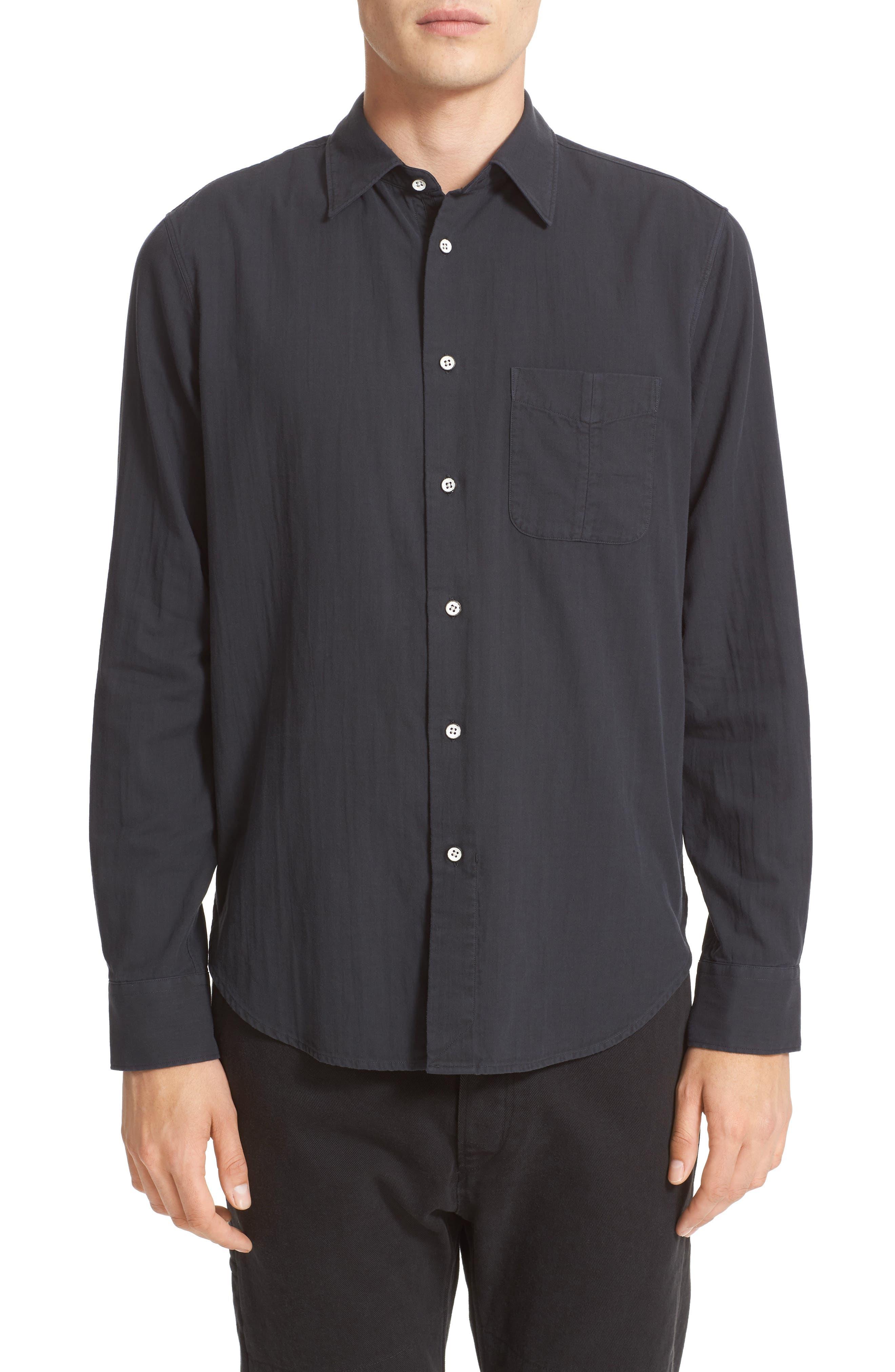 rag & bone Standard Issue Solid Sport Shirt