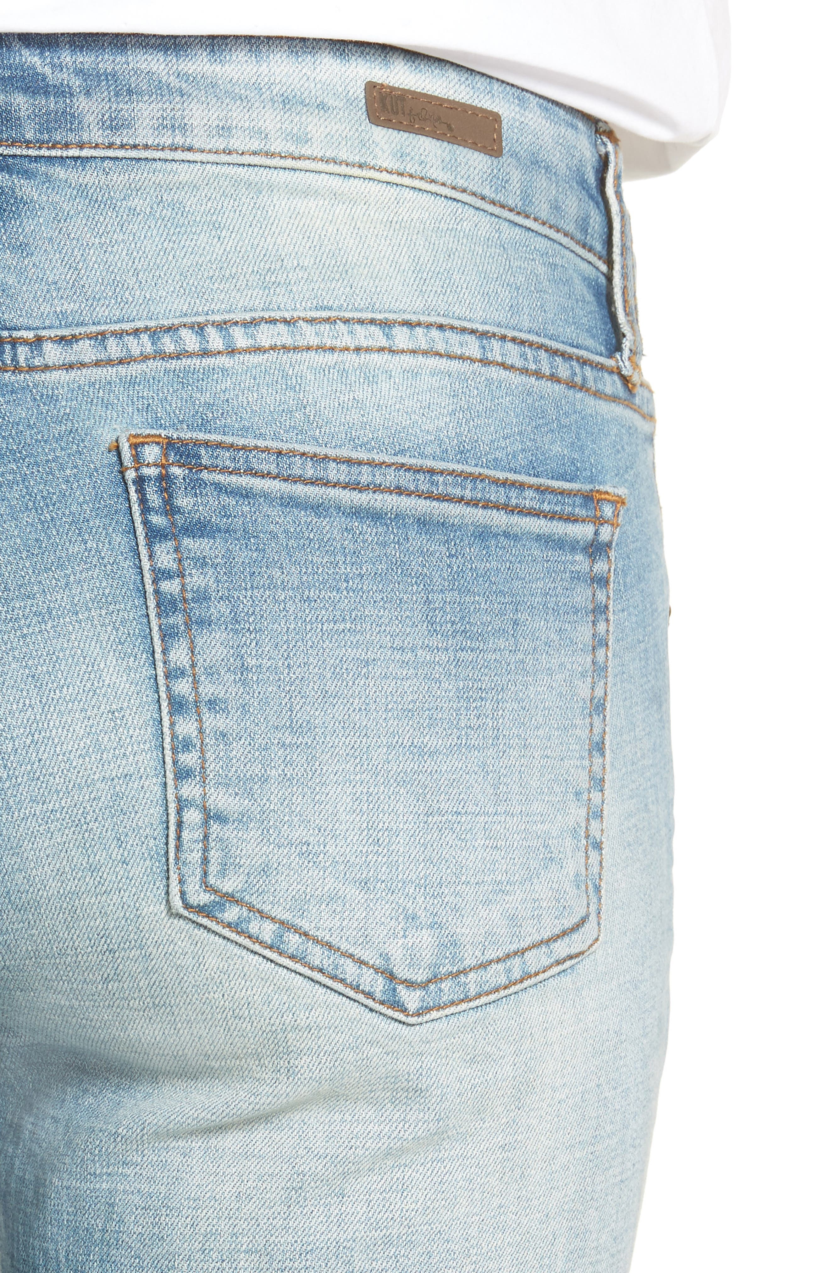 Alternate Image 4  - KUT from the Kloth Catherine Boyfriend Jeans (fromal)